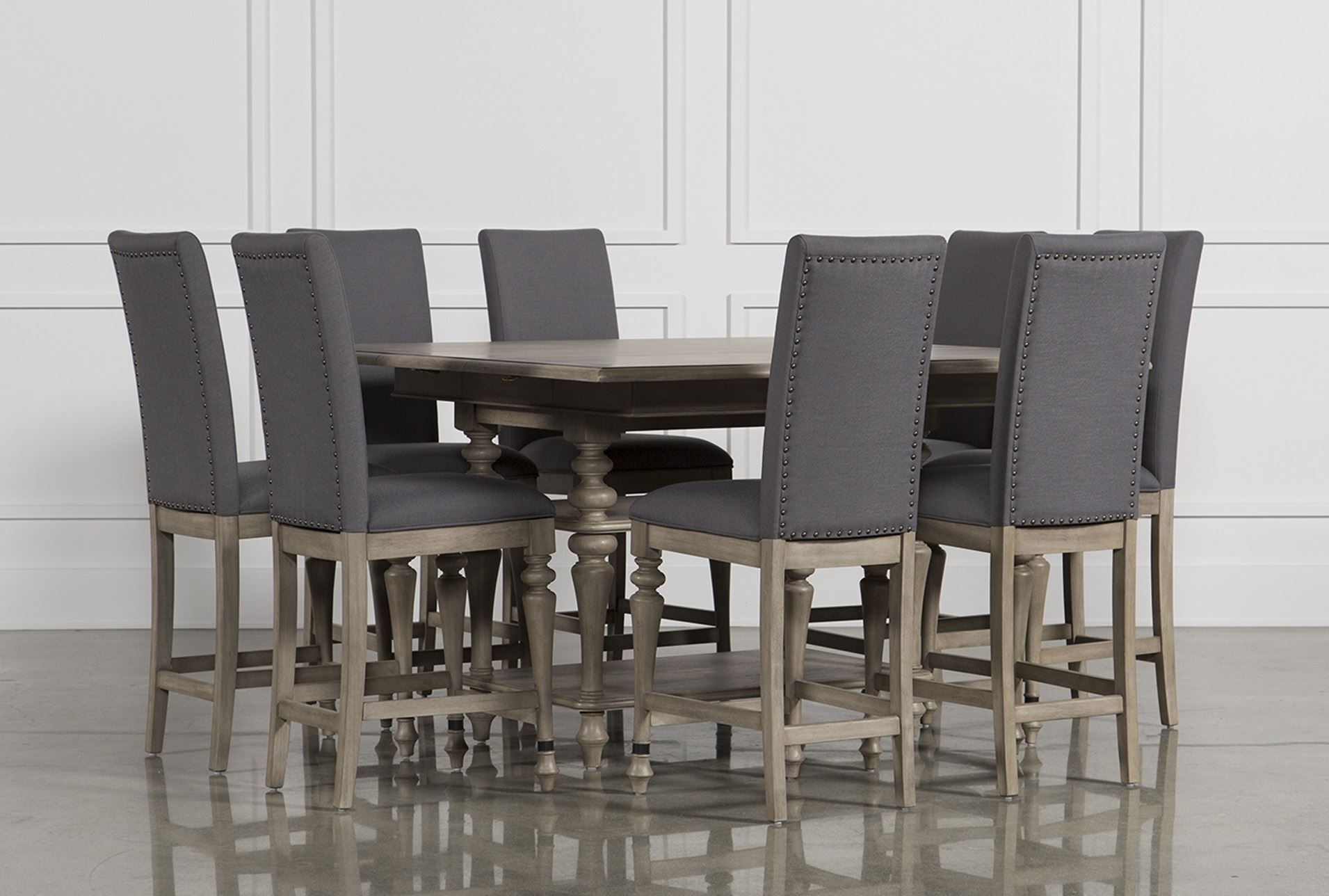 Caira 9 Piece Counter Set – 360 | Dining Room | Pinterest | Dining Throughout Newest Caira Black Round Dining Tables (View 11 of 20)