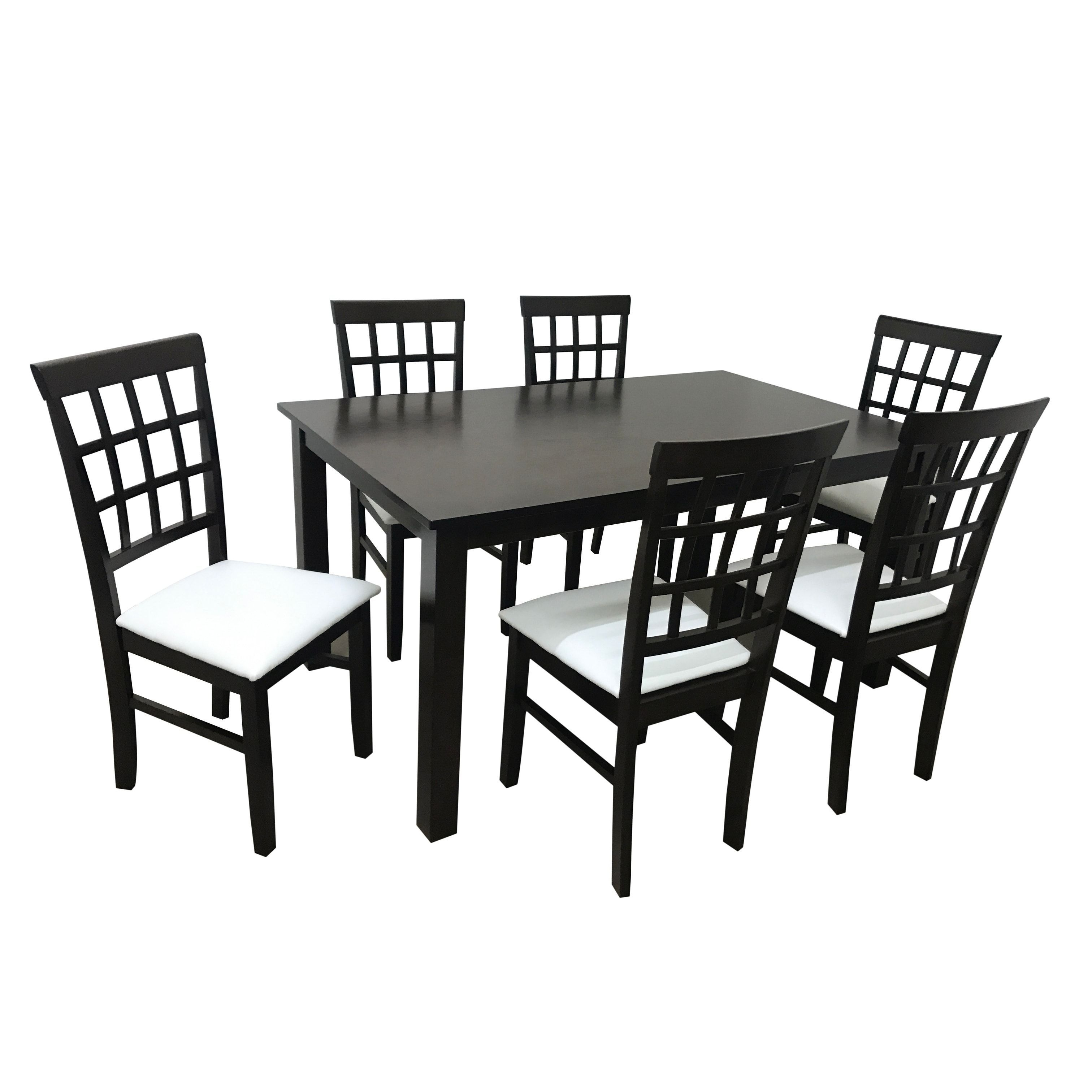 Camden Isle Maygrove Wood Dining Set (4 – 5 Piece Sets – Brown Pertaining To Latest Chapleau Ii 7 Piece Extension Dining Tables With Side Chairs (Image 1 of 20)