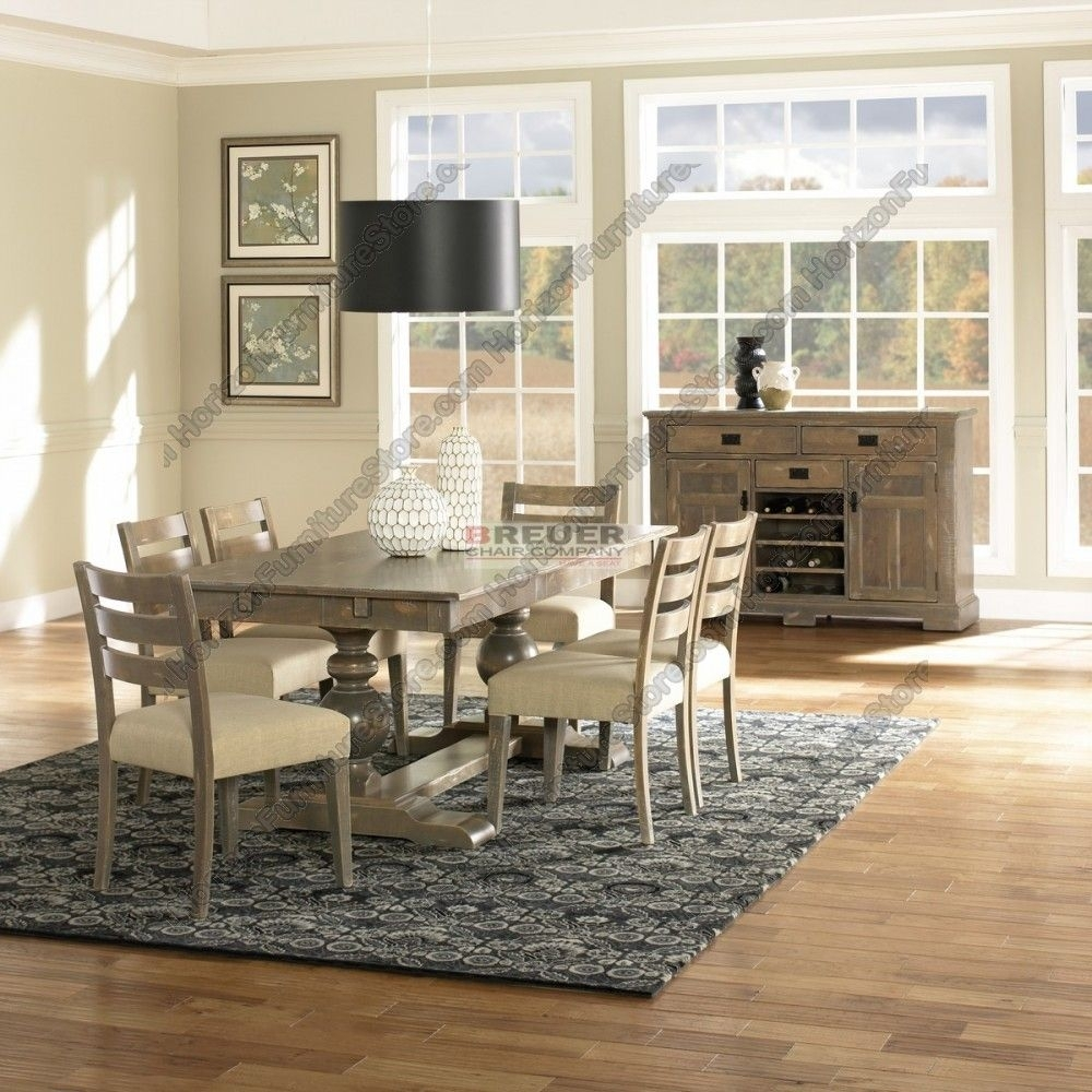 Canadel Champlain Dining Set – Tre 3878 / Cha 5039 | Canadel Dining Regarding Most Recent Norwood 6 Piece Rectangular Extension Dining Sets With Upholstered Side Chairs (View 14 of 20)