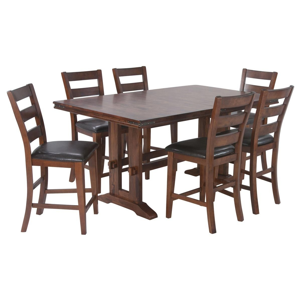 Candice Counter Height Dining Room Collection | Jerome's Furniture For Newest Candice Ii 5 Piece Round Dining Sets With Slat Back Side Chairs (View 12 of 20)