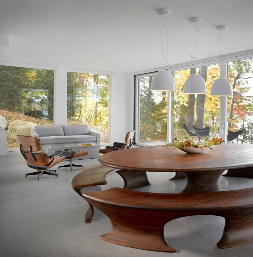 Cantilever Lake Housebrian Mac I Have A Slight Obsession W The Within Recent Bale 6 Piece Dining Sets With Dom Side Chairs (Image 12 of 20)