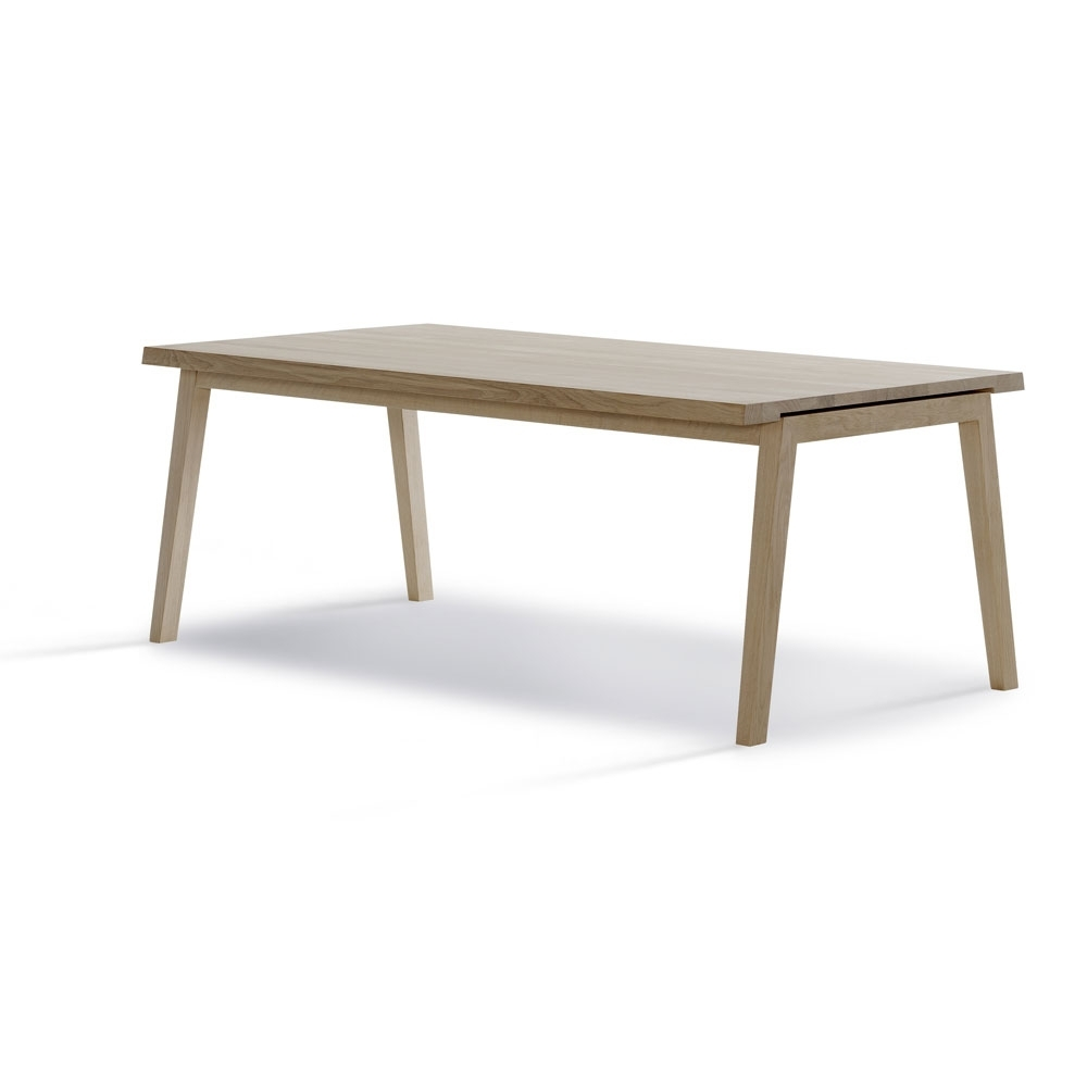 Carl Hansen Sh900 Dining Table, Buy Online Today | Utility Design Uk Inside Current Combs Extension Dining Tables (Image 2 of 20)