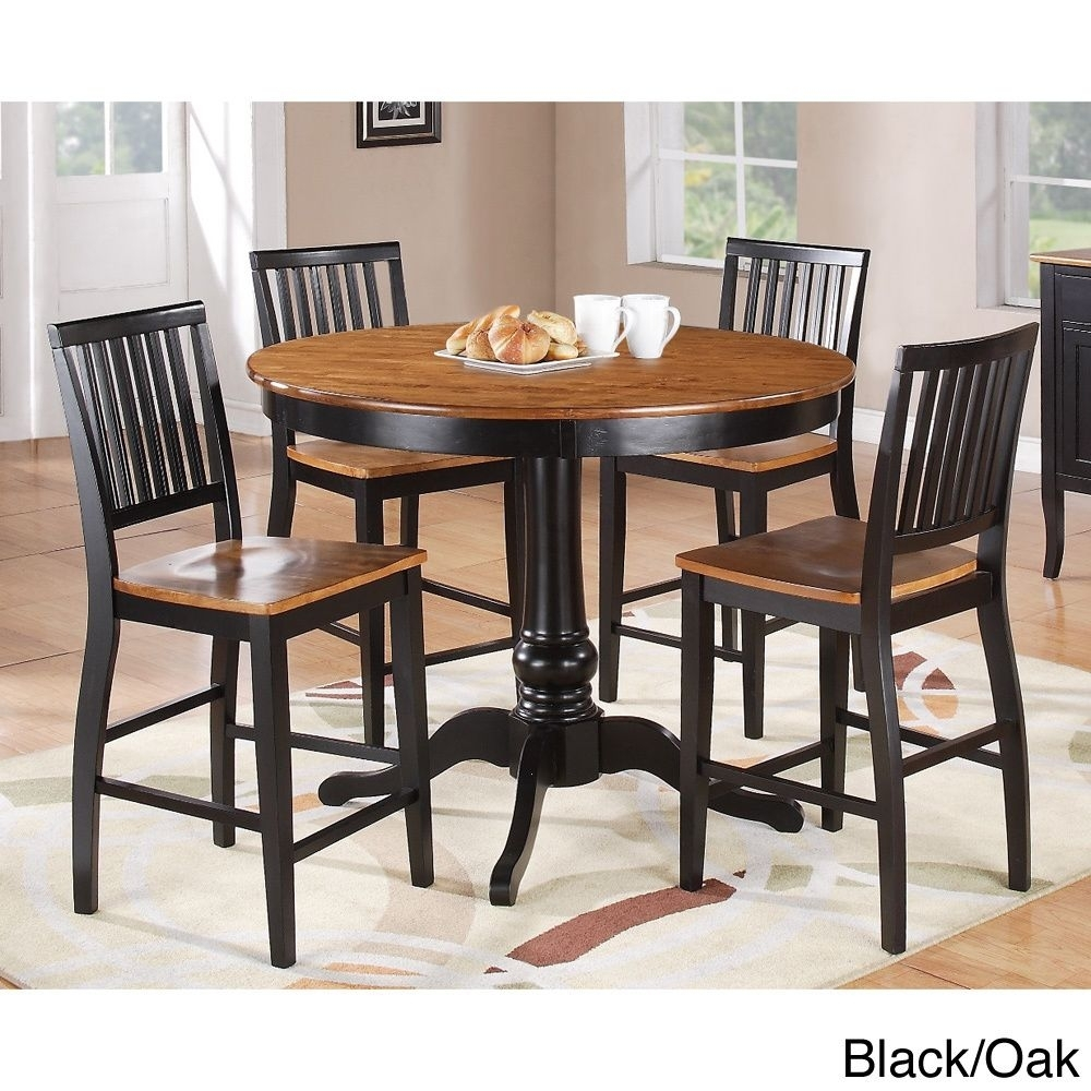 Carla Counter Height 5 Piece Dining Set | Overstock™ Shopping – Big With Regard To 2017 Candice Ii 5 Piece Round Dining Sets (Photo 11 of 20)