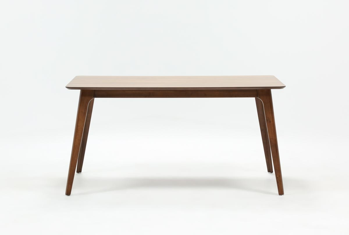 Carly Rectangle Dining Table | Living Spaces Within Recent Carly Rectangle Dining Tables (Image 11 of 20)