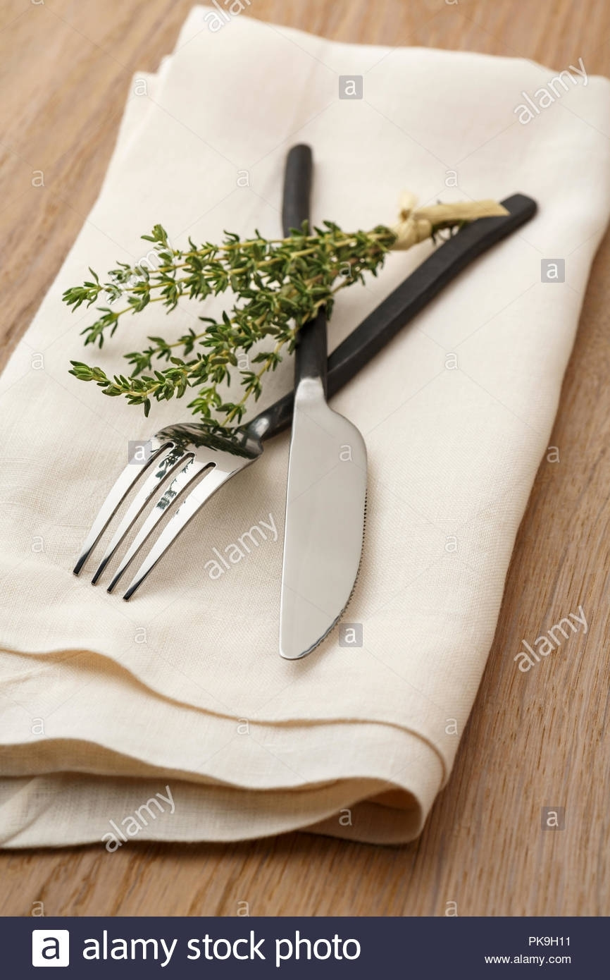 Casual Artisanal Dining Table Place Setting With Fork And Knife Throughout Latest Artisanal Dining Tables (Image 8 of 20)