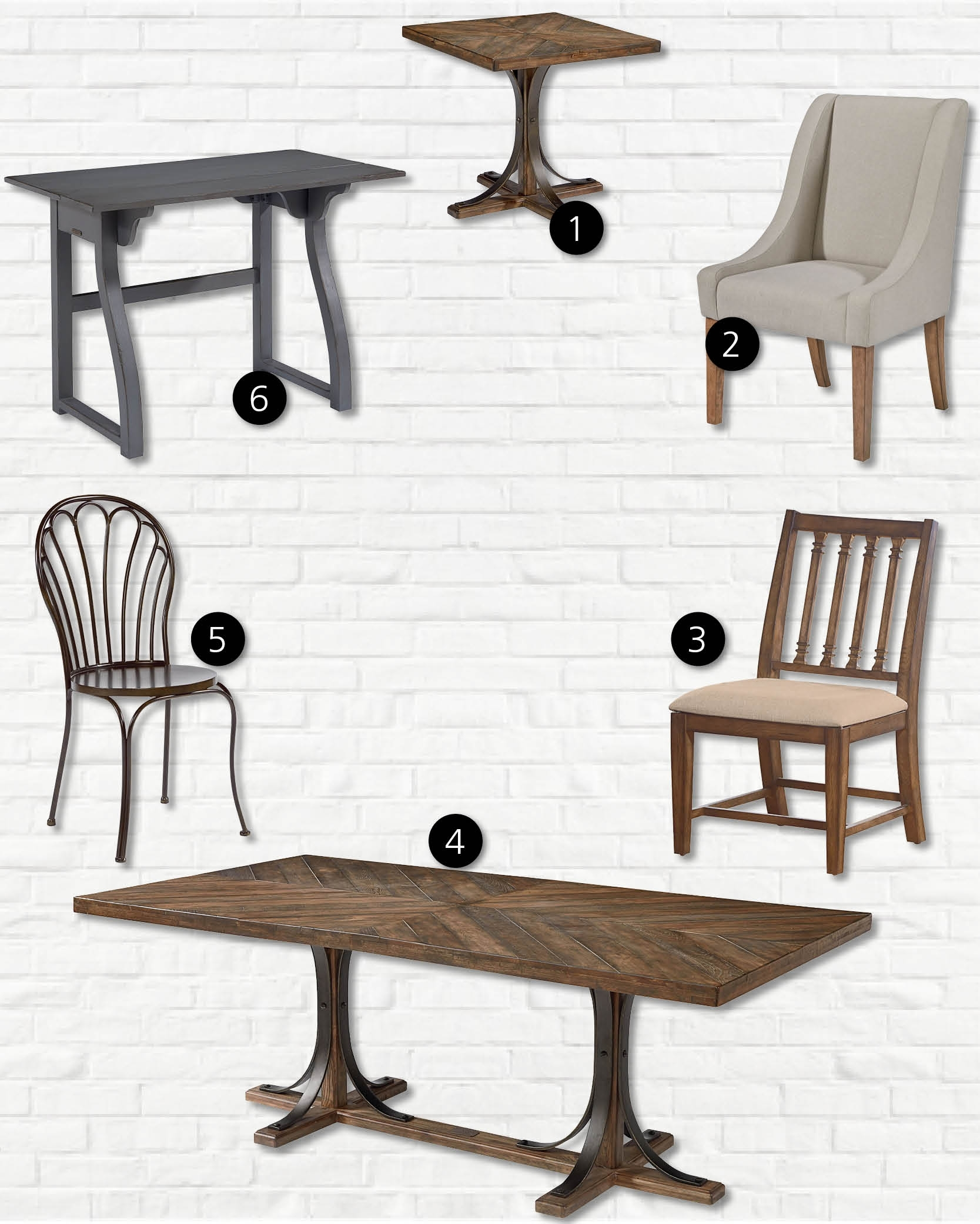 Celebrity Look For Less: Magnolia Homejoanna Gaines | Hm Etc. Throughout Newest Magnolia Home Shop Floor Dining Tables With Iron Trestle (Photo 9 of 20)
