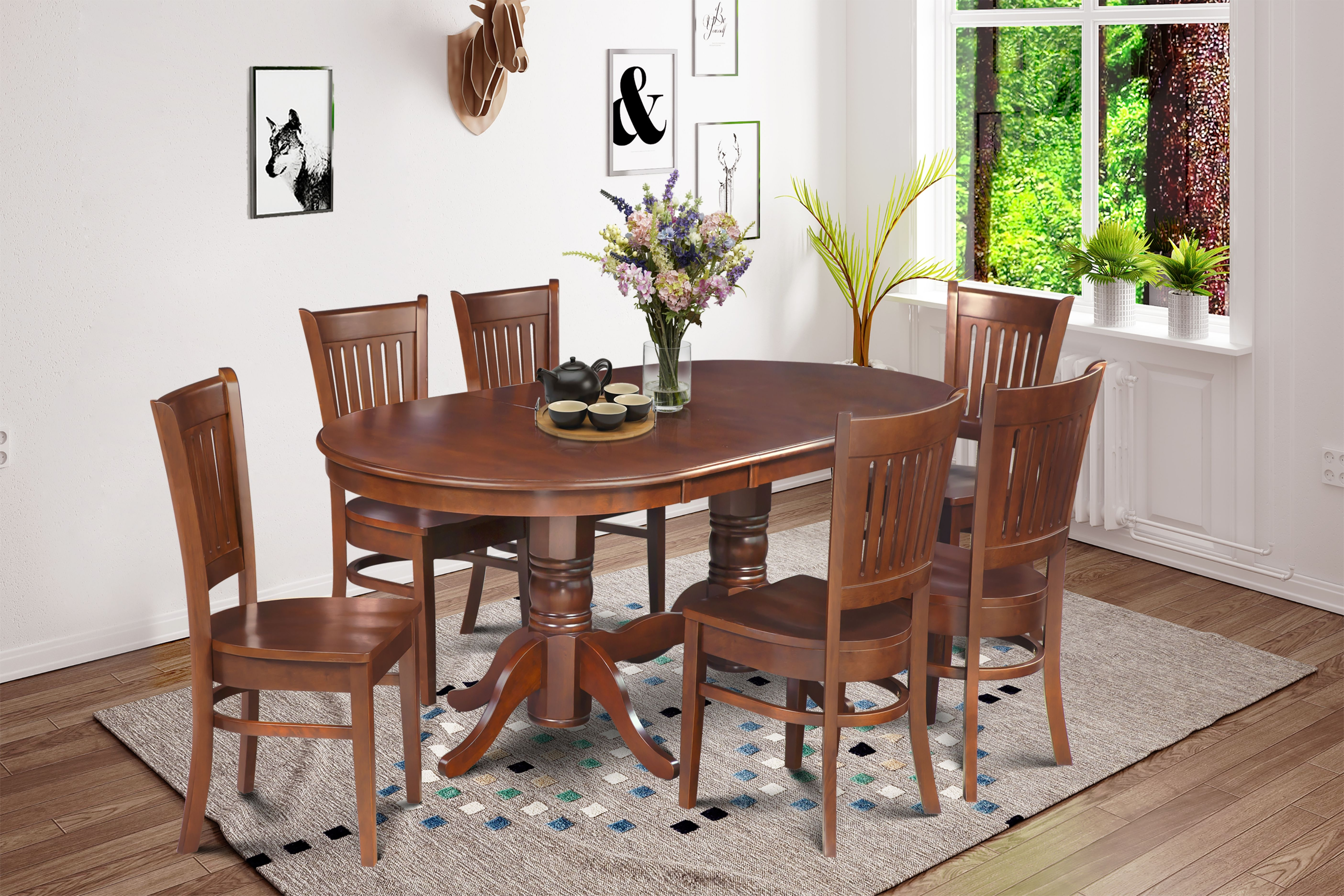 Chair, Upholstered, Table, Dining, Dining Set, Sets, Table, Living Regarding Most Recently Released Portland 78 Inch Dining Tables (Image 6 of 20)