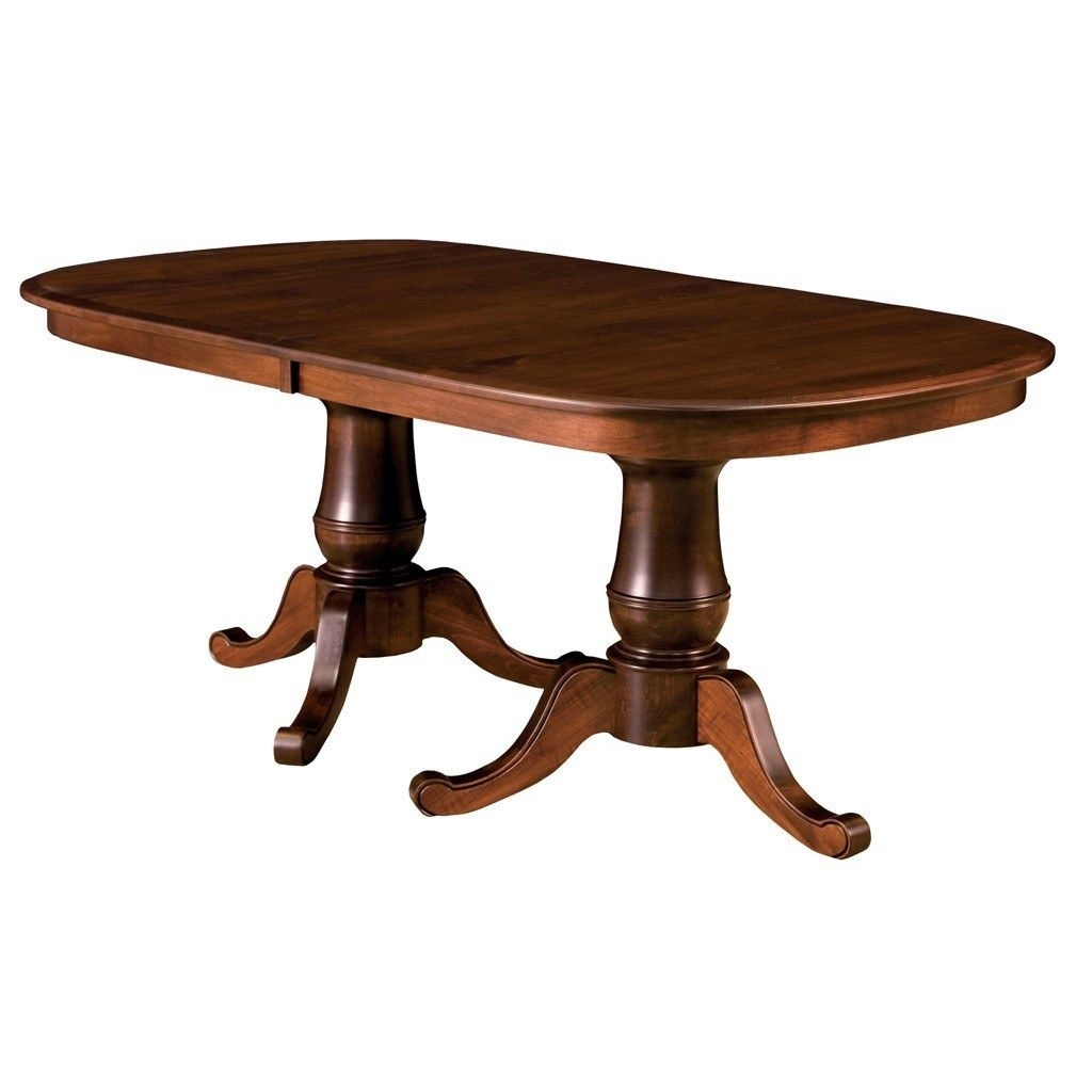 Chancellor Double Pedestal Extension Table | Craftsman, Room For Recent Craftsman Rectangle Extension Dining Tables (Image 7 of 20)