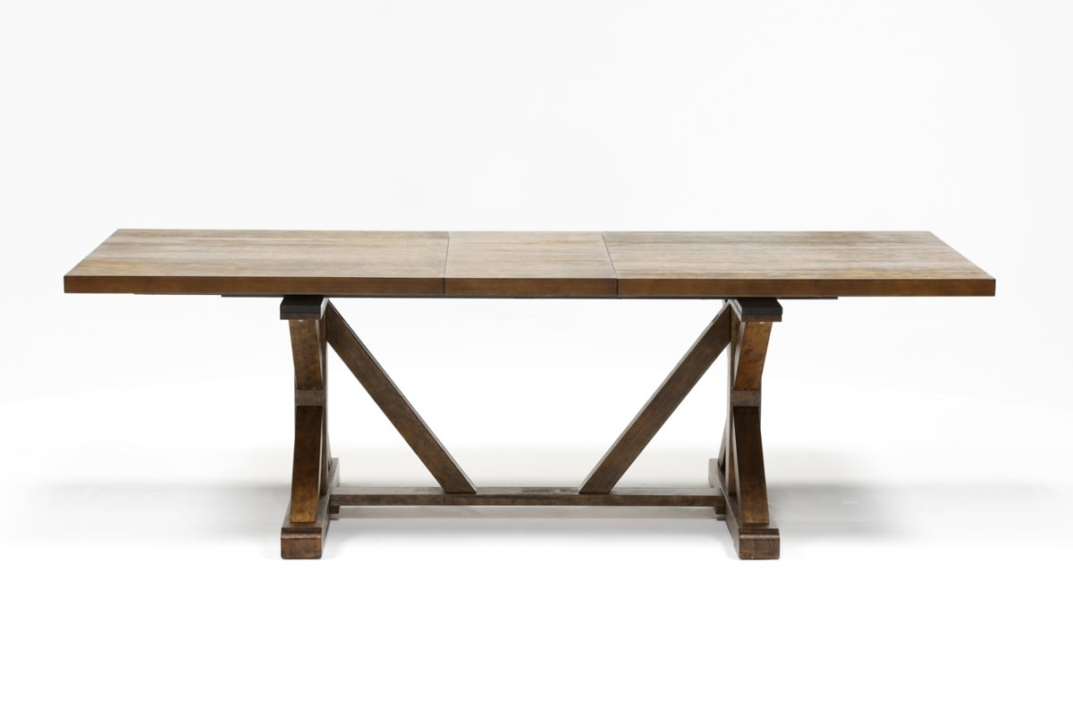 Chandler Extension Dining Table | Living Spaces In 2018 Chandler Extension Dining Tables (Photo 1 of 20)