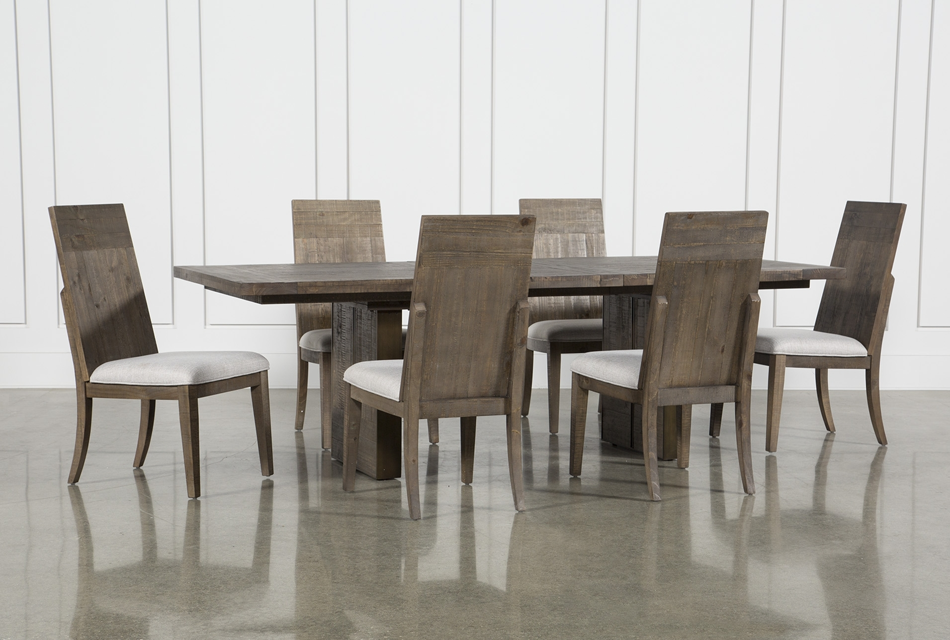Chandler Fabric Side Chair Throughout Newest Jaxon Grey 5 Piece Extension Counter Sets With Fabric Stools (Image 2 of 20)