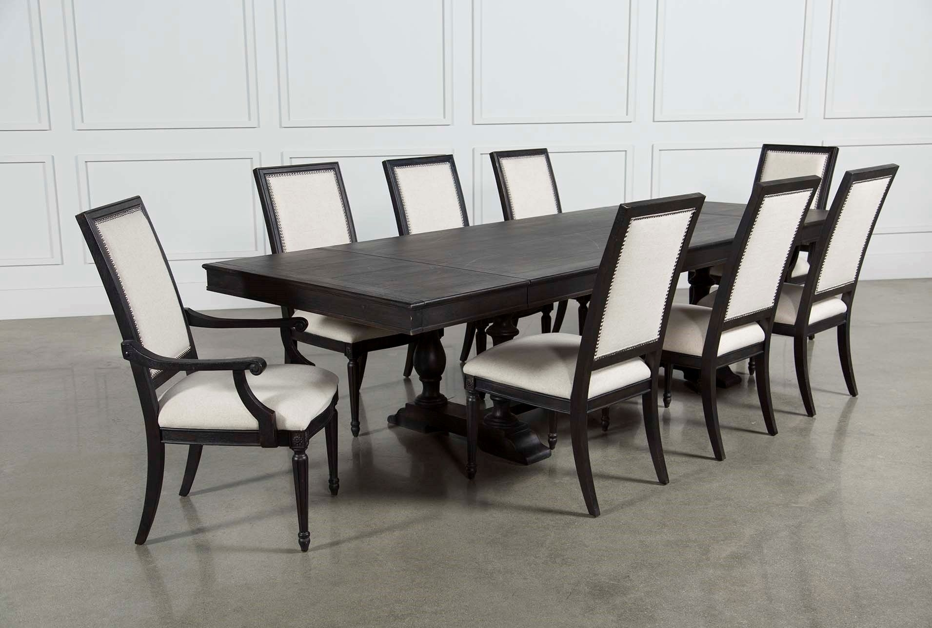 Chapleau 9 Piece Extension Dining Set, Brown | Extensions, Dining Inside Recent Chapleau Ii 9 Piece Extension Dining Tables With Side Chairs (Photo 1 of 20)