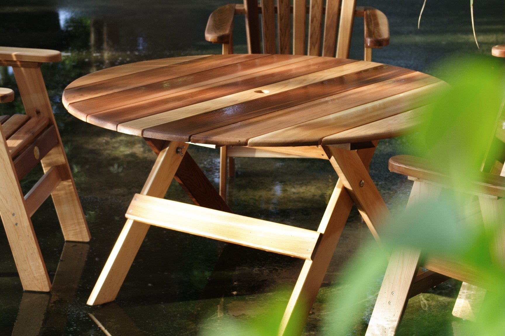 Charlton Home Macie Round Wooden Dining Table | Wayfair Intended For Most Up To Date Macie Round Dining Tables (Image 6 of 20)