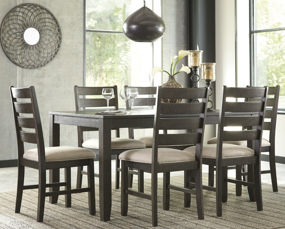 Cheap Dining Room Tables | Design Builders Pertaining To 2017 Rocco 7 Piece Extension Dining Sets (Image 5 of 20)