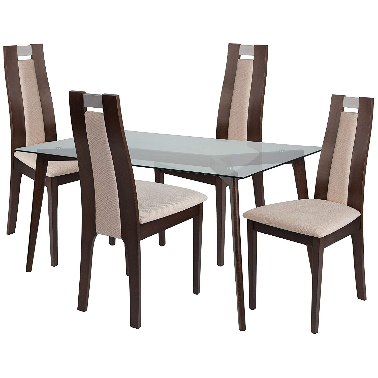 Cheap Glass Dining Room Sets: 20 Photos Patterson 6 Piece Dining Sets