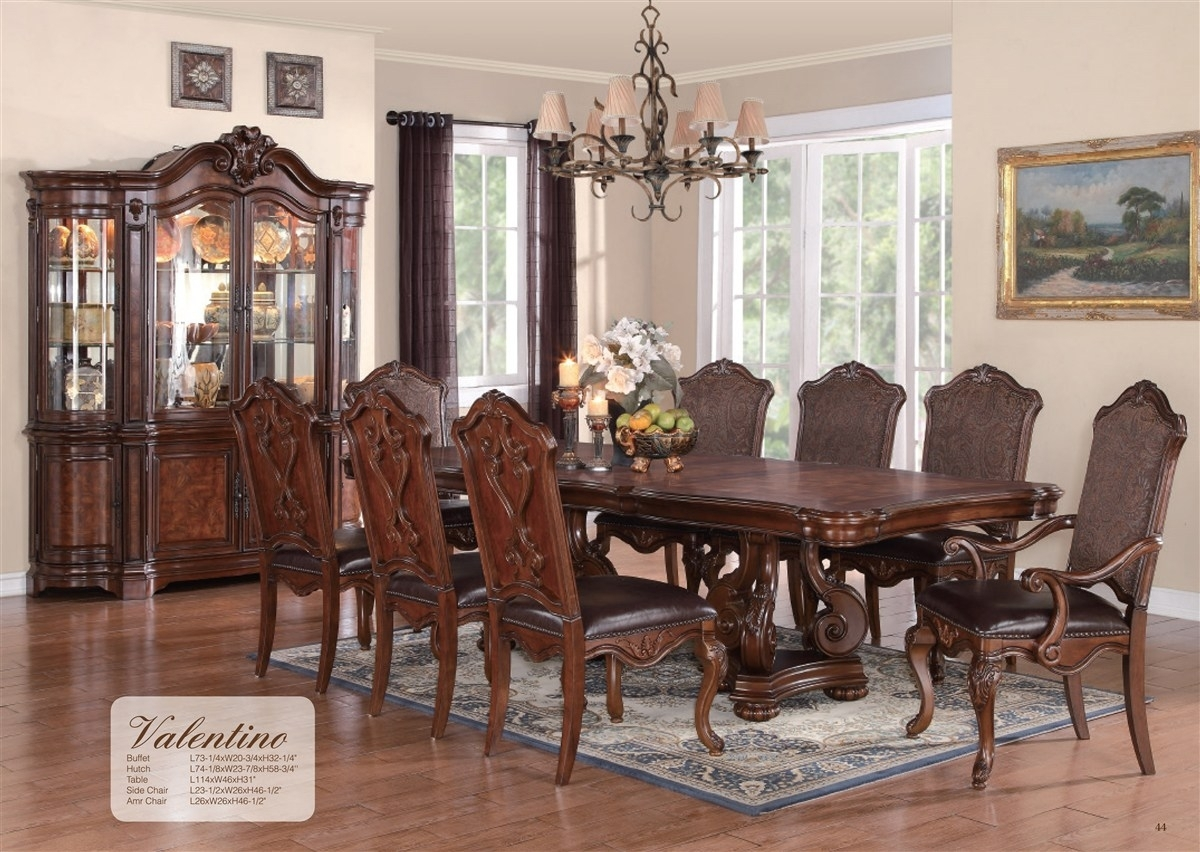 Cheery Caira Piece Extension Set Back Chairs Caira Piece Extension Regarding Best And Newest Chapleau Ii 9 Piece Extension Dining Tables With Side Chairs (Photo 19 of 20)