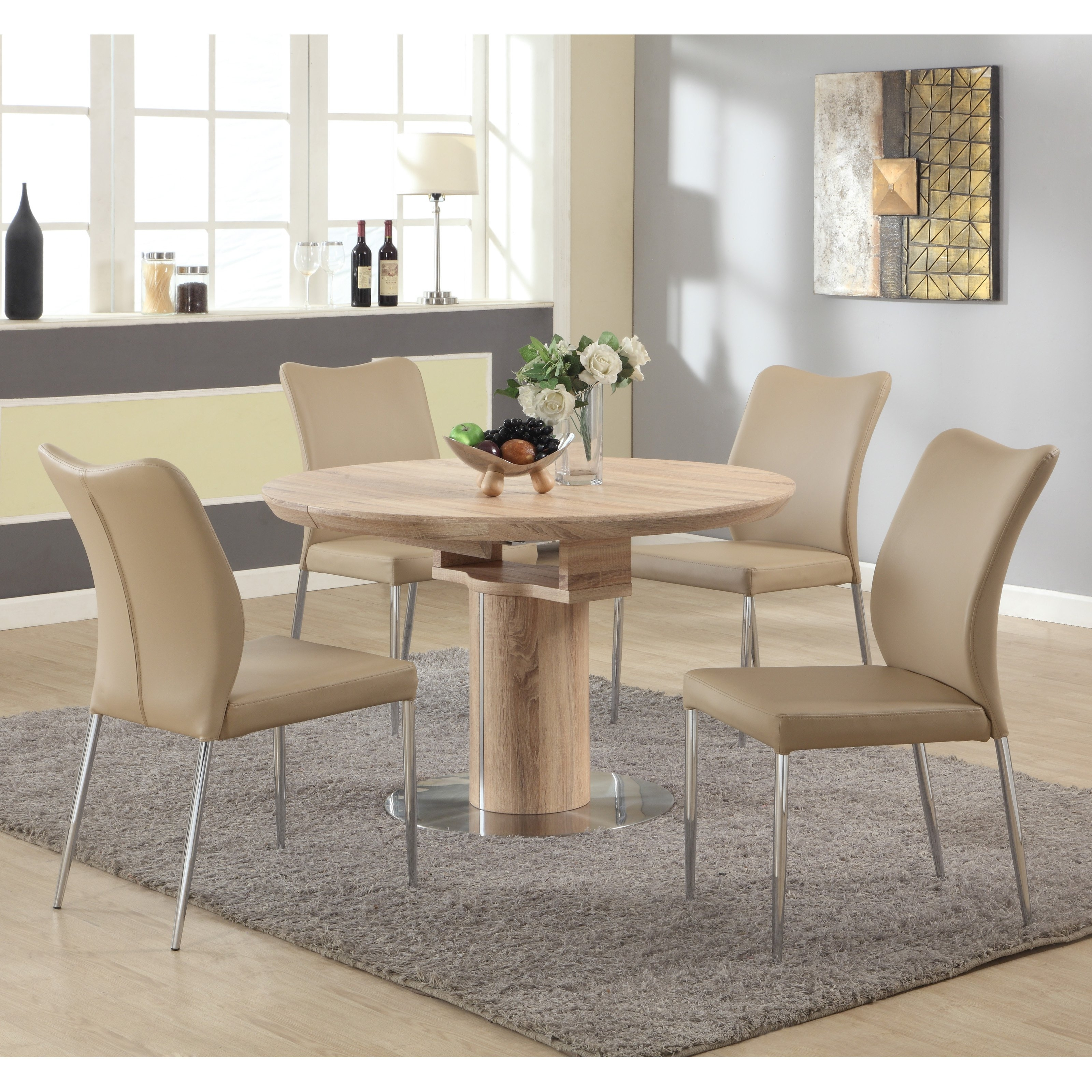 Chintaly Nora 5 Piece Dining Table Set – Walmart In 2018 Bradford Dining Tables (View 8 of 20)