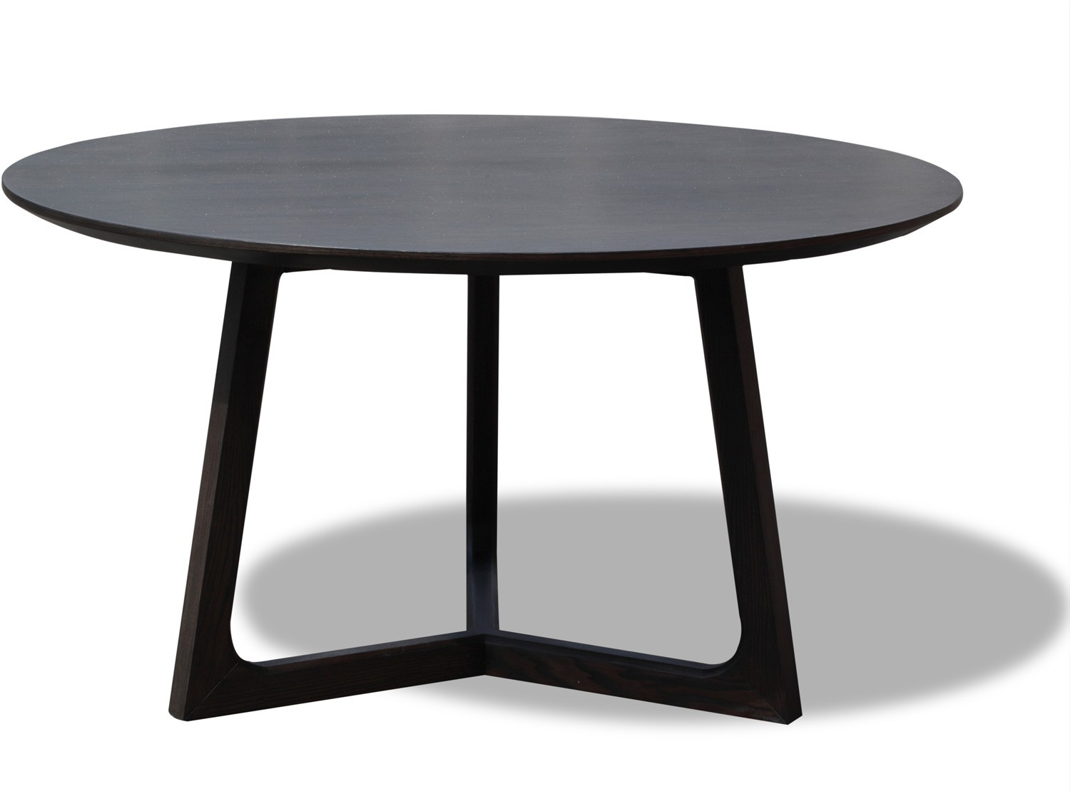 Choosing A Round Dining Table And Chairs Which Match – Home Decor Ideas In Most Popular Caira Black Round Dining Tables (Image 11 of 20)