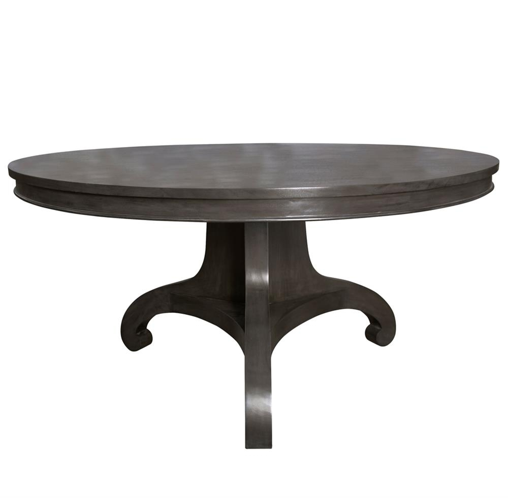 Choosing A Round Dining Table And Chairs Which Match – Home Decor Ideas Regarding Most Recently Released Caira Black Round Dining Tables (Image 12 of 20)