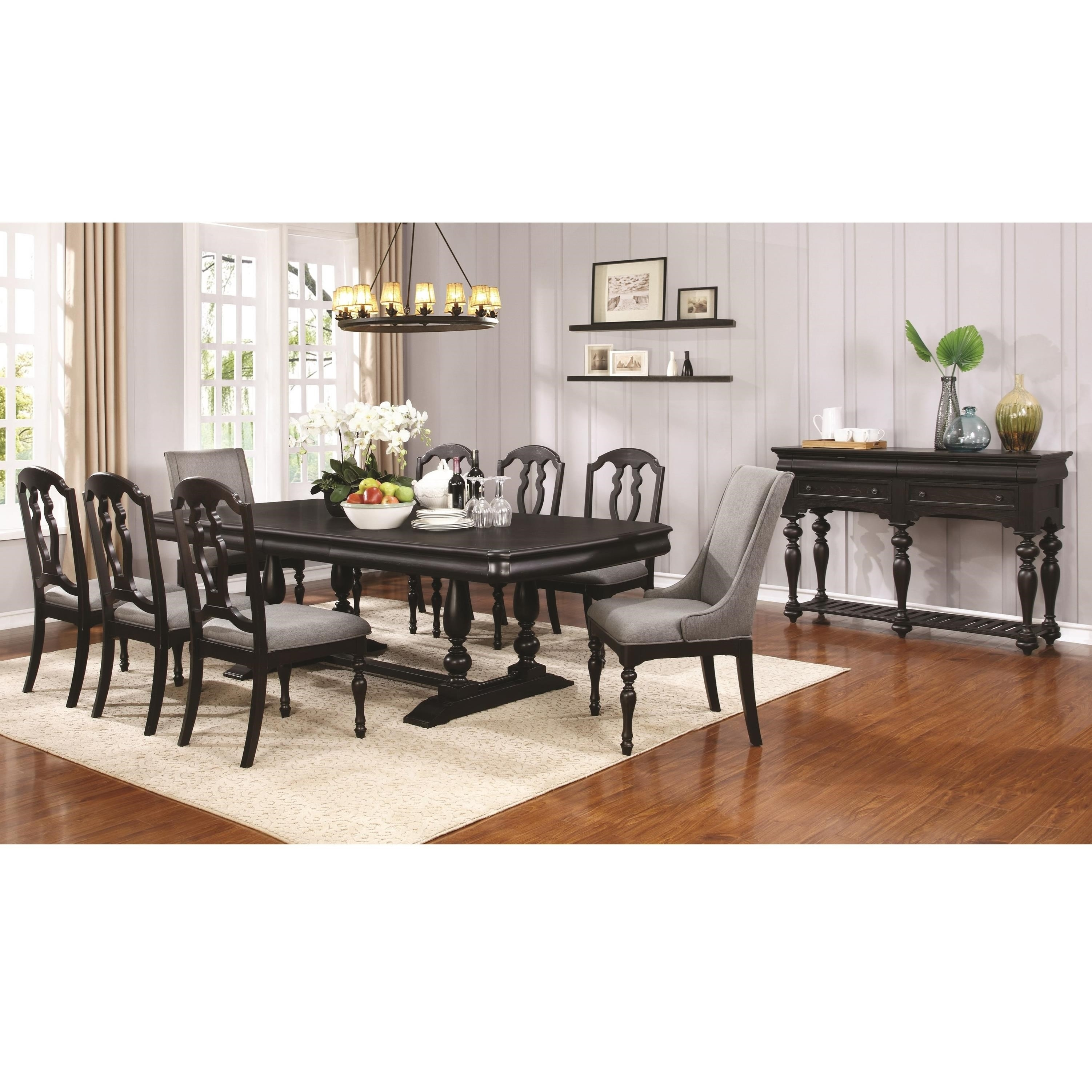 Coaster Leon Dining Room Group | Prime Brothers Furniture | Formal Throughout Best And Newest Leon Dining Tables (Image 2 of 20)