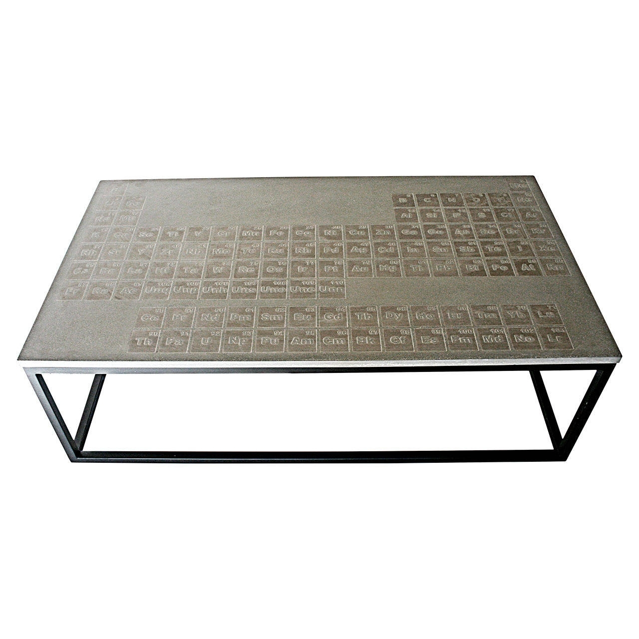 Concrete Coffee And Cocktail Tables – 55 For Sale At 1Stdibs Within Current Carly Triangle Tables (View 20 of 20)