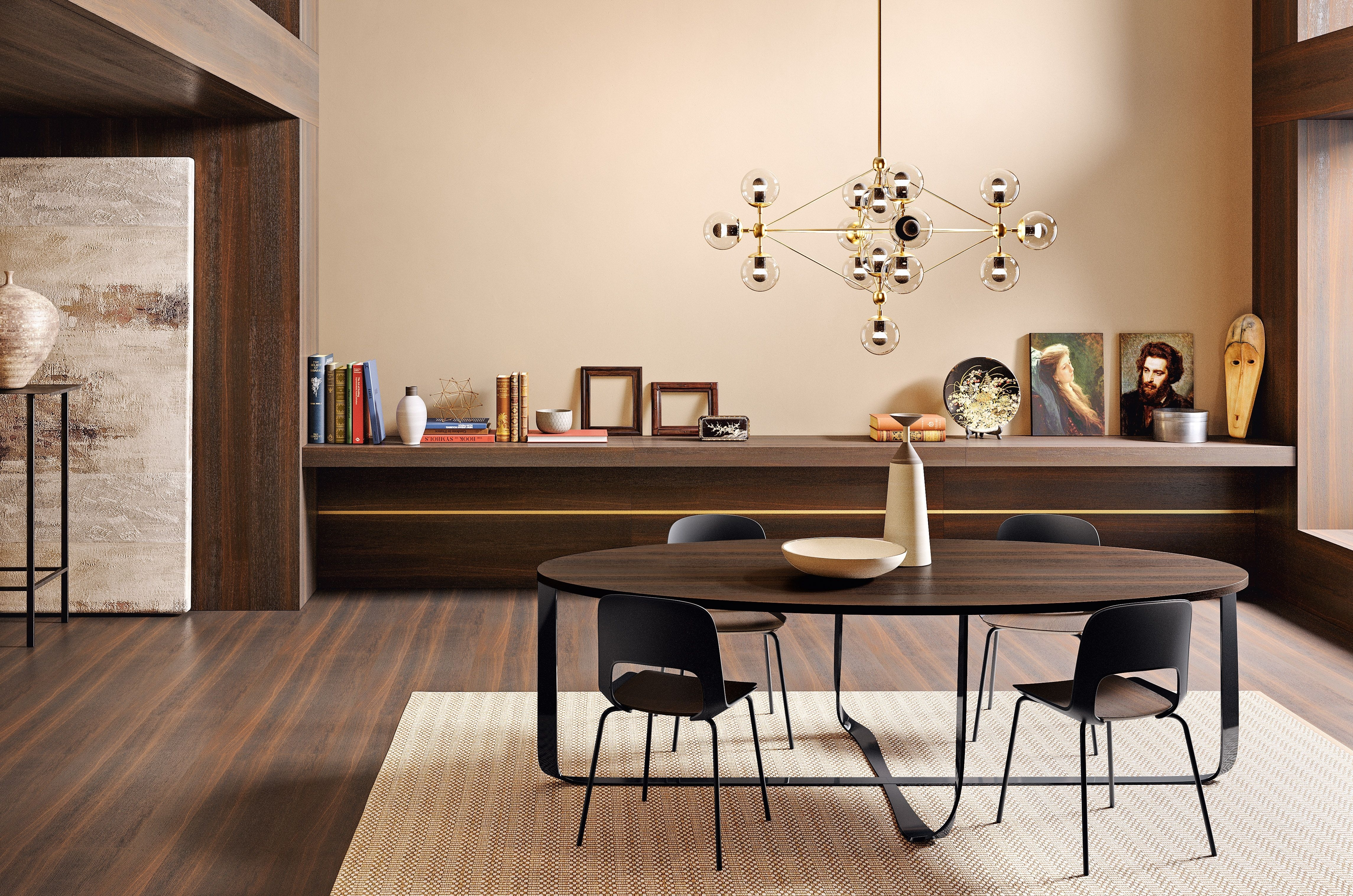Confluence Table And Cora Chairs | Pianca | Www (Image 5 of 20)