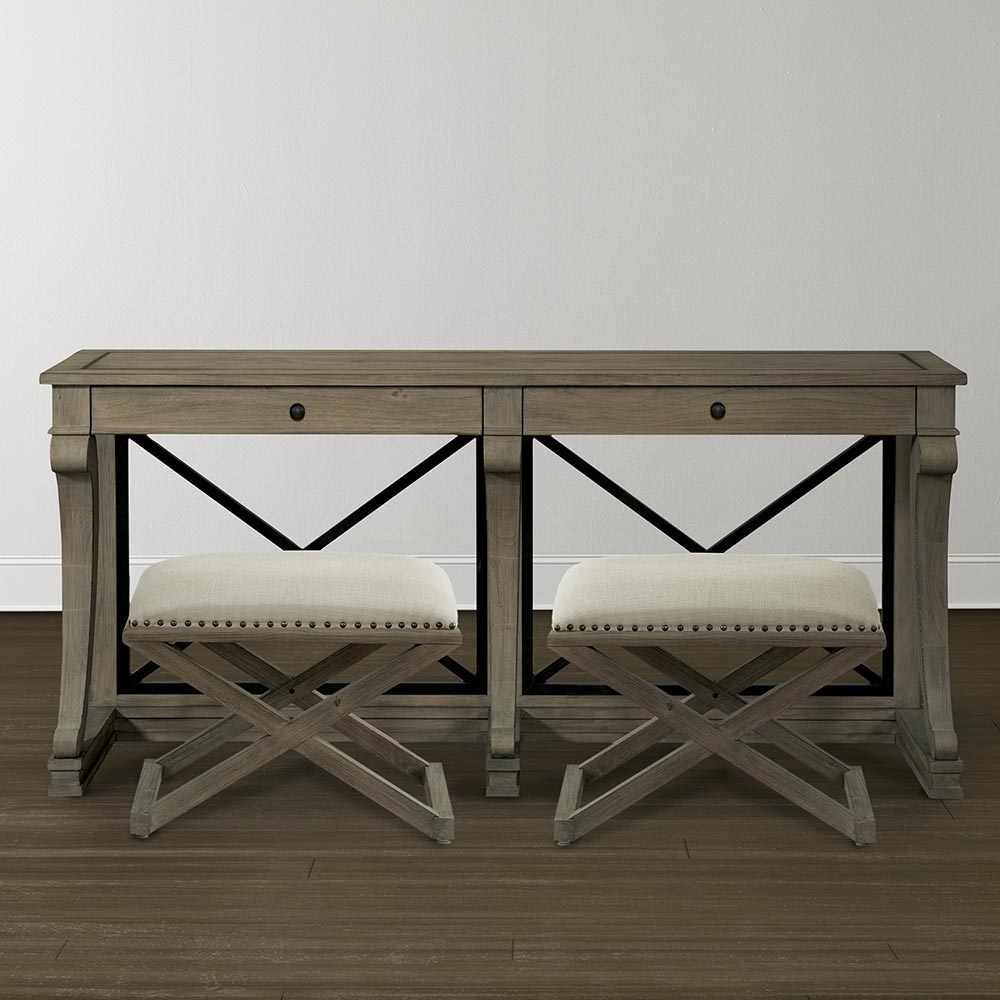 Console Table – Artisanal Collection | Bassett Furniture For Best And Newest Artisanal Dining Tables (Image 10 of 20)