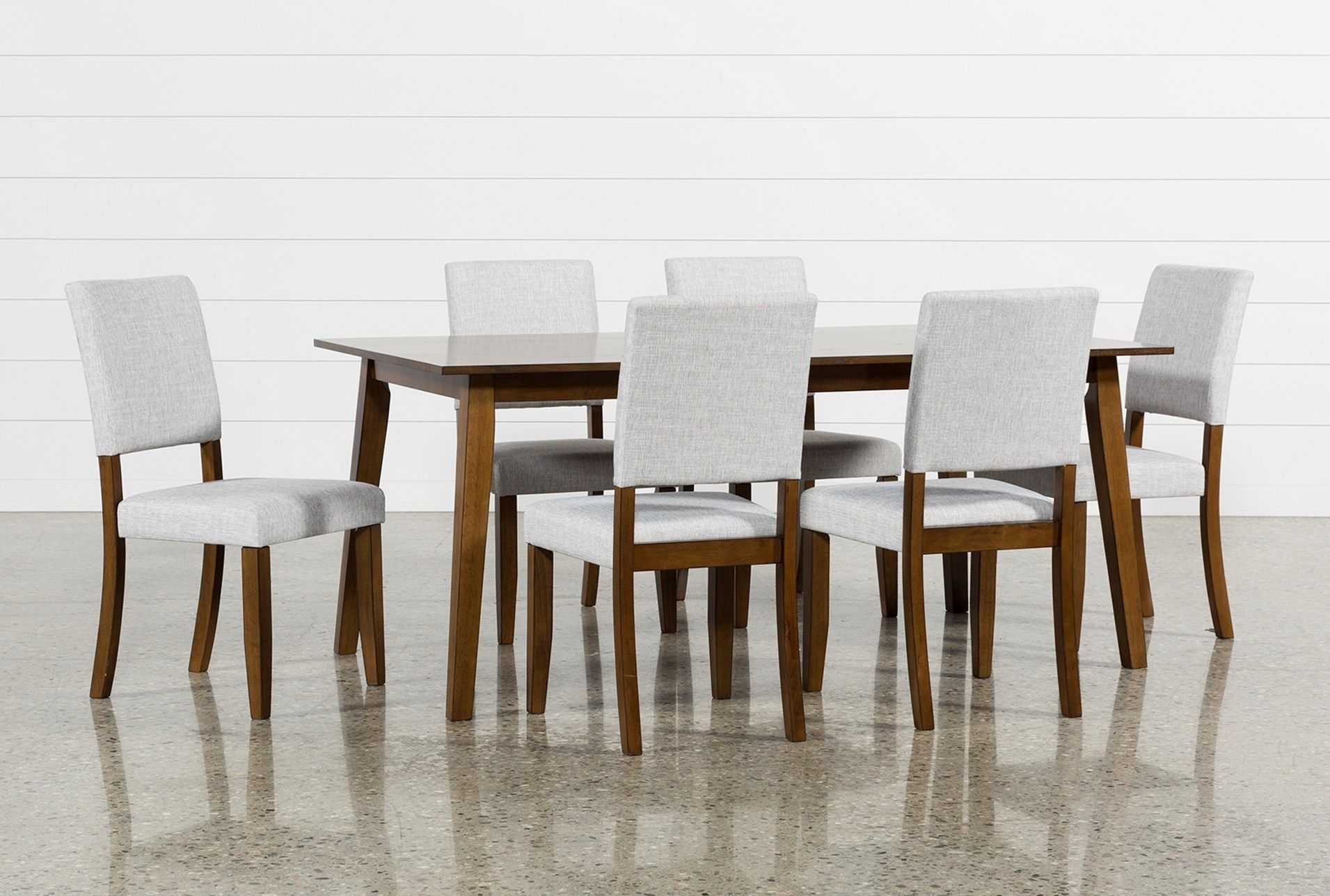 Cora 7 Piece Dining Set | Dining Room | Pinterest | Dining, Side Intended For Most Recently Released Caden 6 Piece Dining Sets With Upholstered Side Chair (Photo 8 of 20)