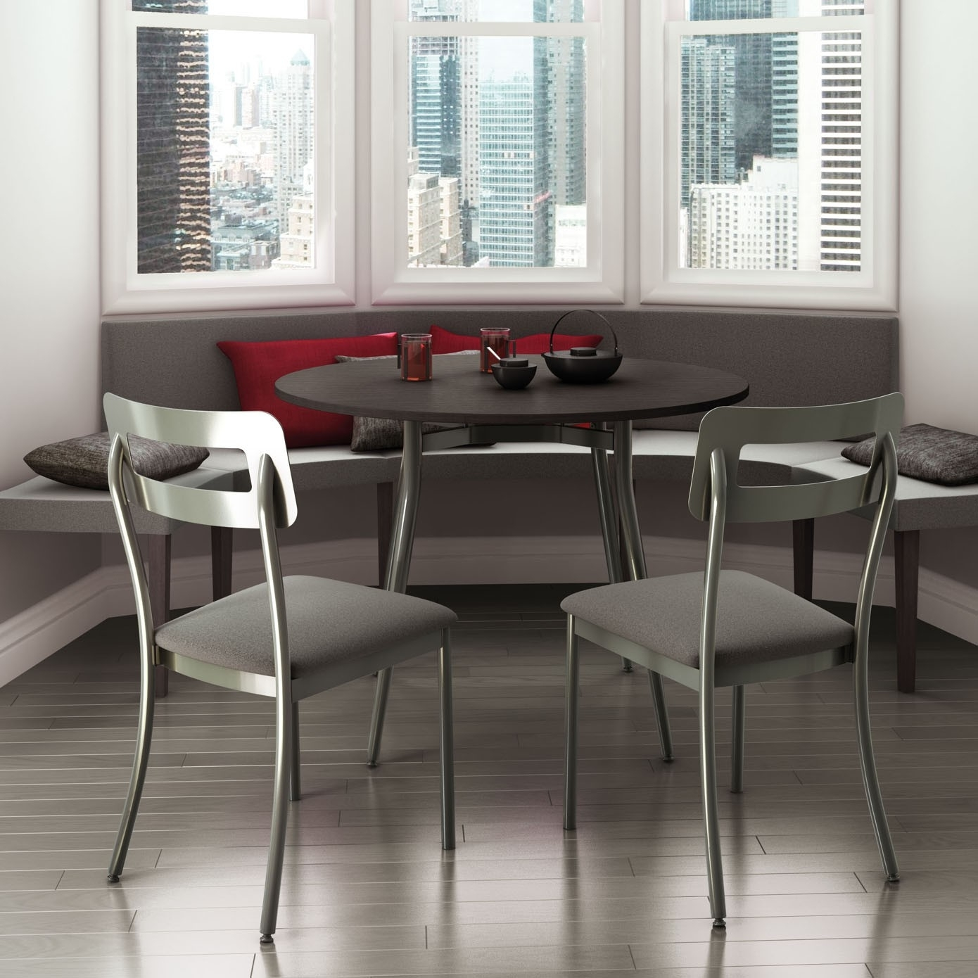Cora Dining Chair, Amisco Canada – Italmoda Furniture Store Within Most Popular Cora Dining Tables (Photo 16 of 20)