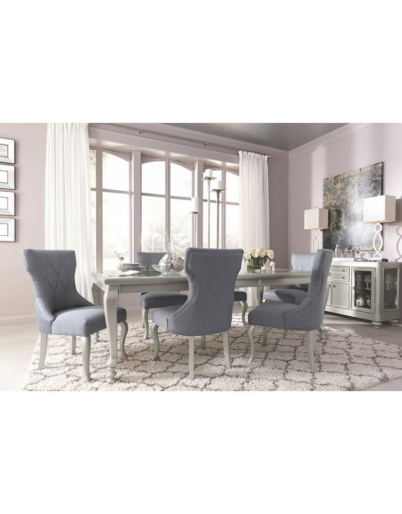 Coralayne 7 Piece Dining Set – Livin Style Furniture For Current Cora 7 Piece Dining Sets (Image 9 of 20)