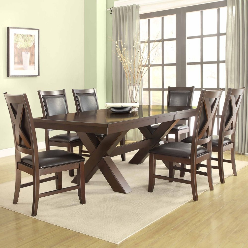 Costco Dining Table |  , Home & Art Furniture Dining Collections For 2018 Palazzo 7 Piece Dining Sets With Mindy Slipcovered Side Chairs (Photo 14 of 20)