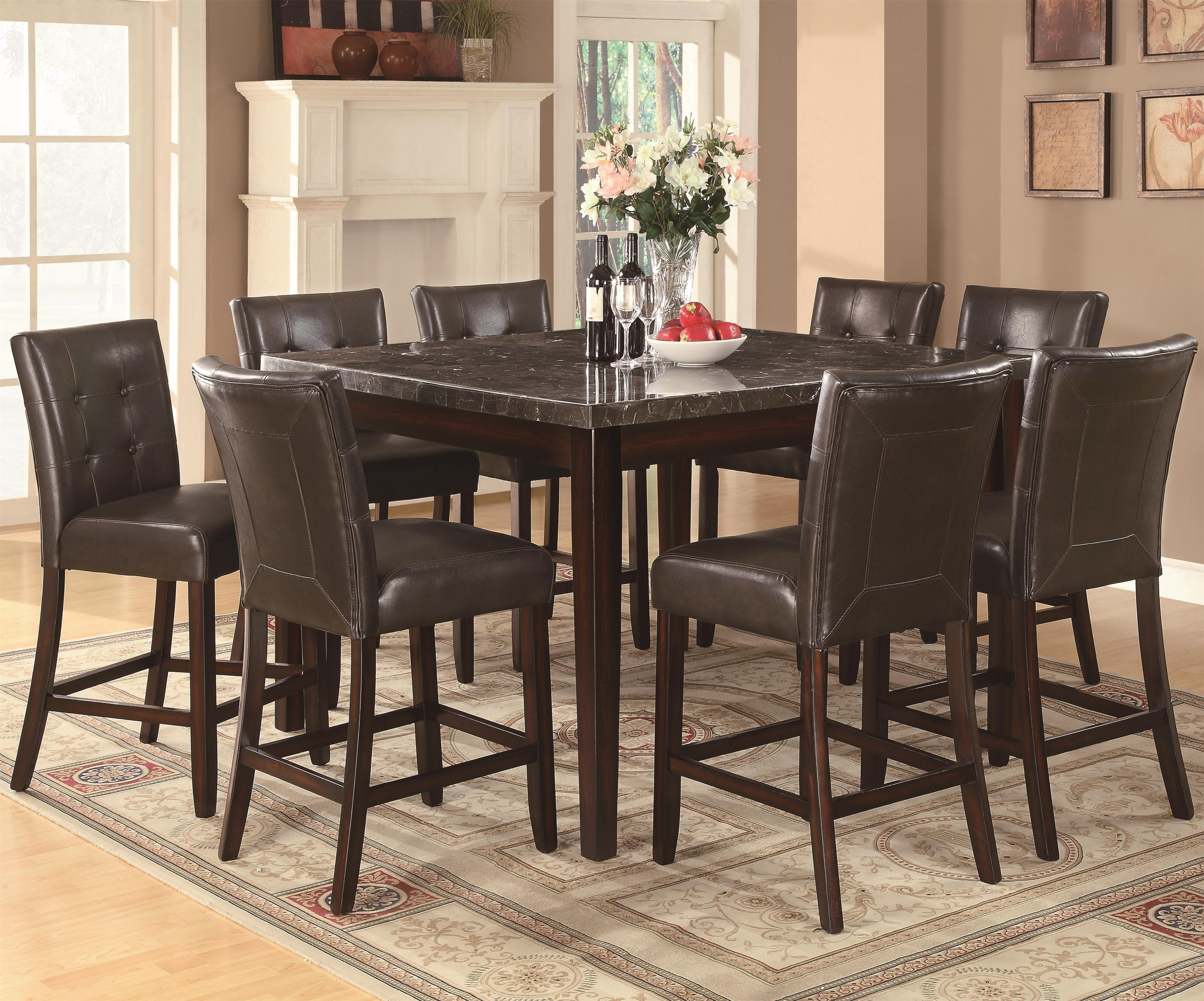 Counter Height Casual Dining – Co 103777 | Pertaining To 2018 Market 5 Piece Counter Sets (Image 10 of 20)