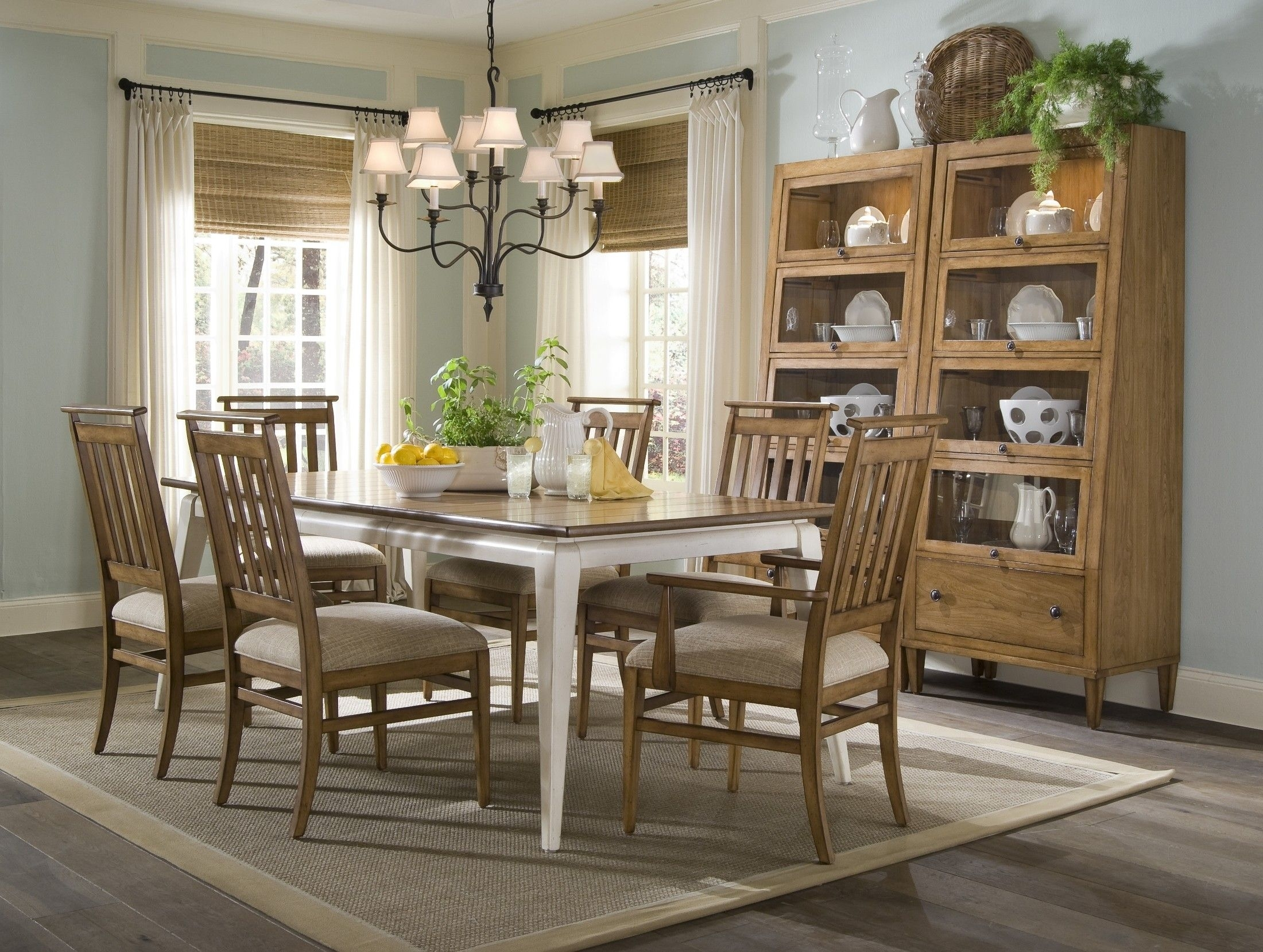Country Dining Room Furniture Inside Modern Design White Decorating For Most Up To Date Norwood 7 Piece Rectangular Extension Dining Sets With Bench, Host & Side Chairs (Photo 15 of 20)