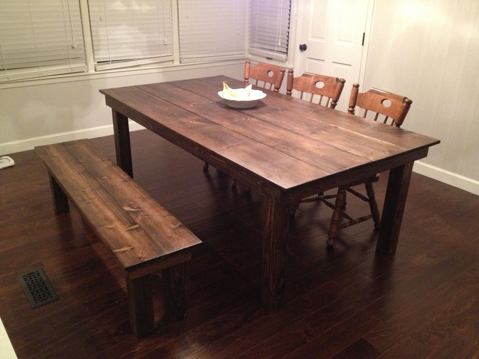 Custom Made Glass For Dining Table Best Of Cool Farm Dining Tables 4 Pertaining To Most Up To Date Farm Dining Tables (Photo 8 of 20)