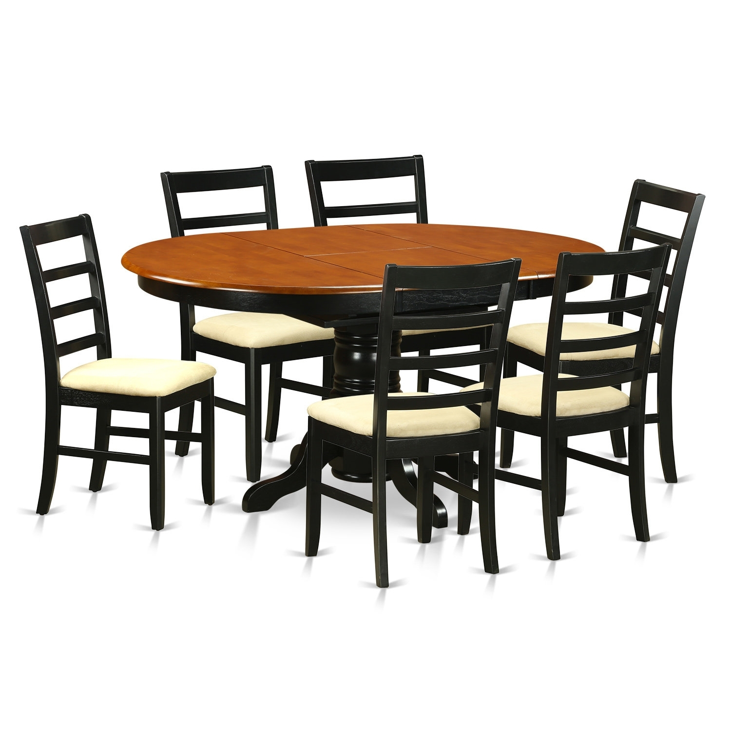 Darby Home Co Attamore 7 Piece Dining Set | Wayfair Intended For Latest Chandler 7 Piece Extension Dining Sets With Wood Side Chairs (Image 11 of 20)