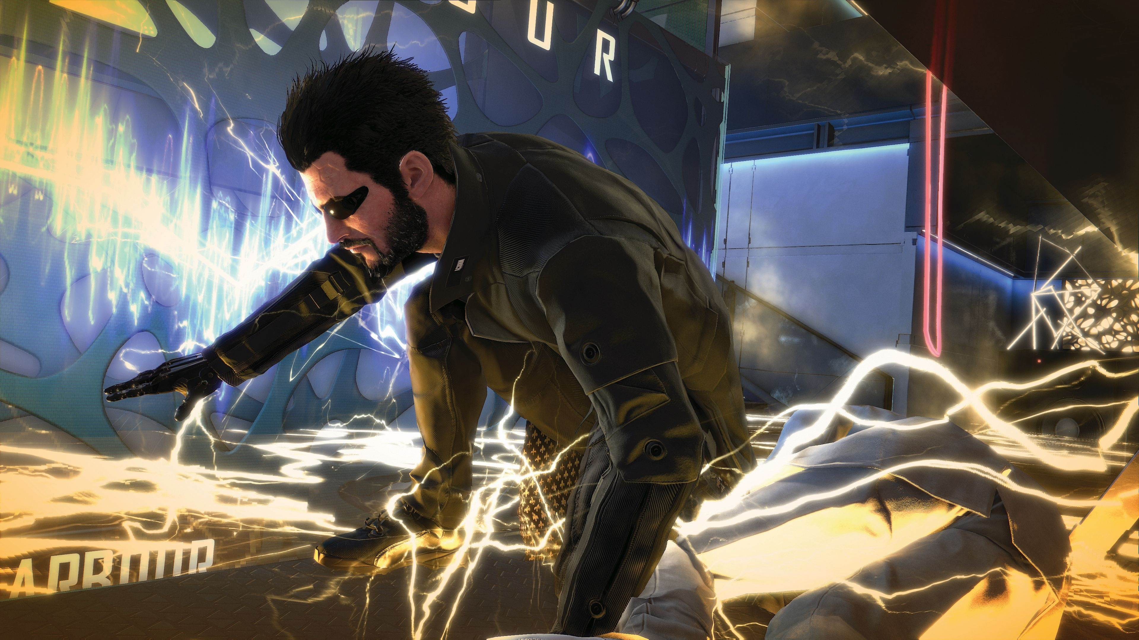 Deus Ex: Mankind Divided Review | Pc Gamer For Most Popular Jensen 5 Piece Counter Sets (Image 3 of 20)