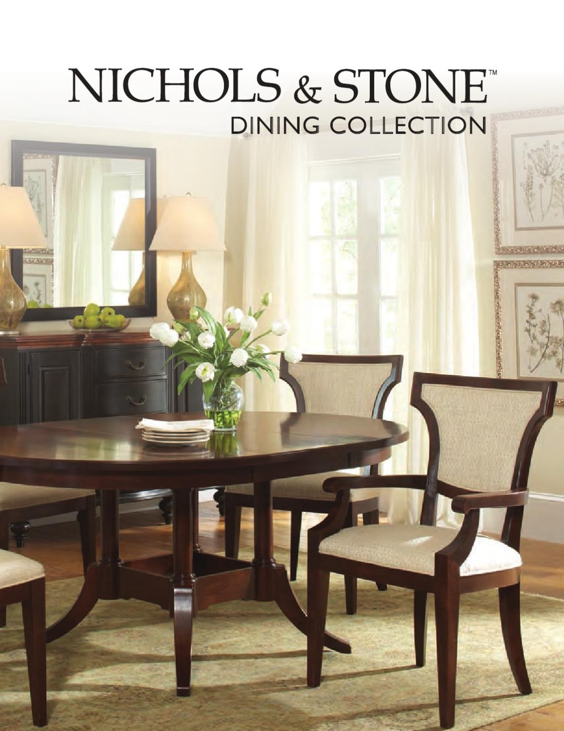 Dining Collectionnichols & Stonestickley – Issuu Regarding Most Popular Walden Extension Dining Tables (Image 4 of 20)
