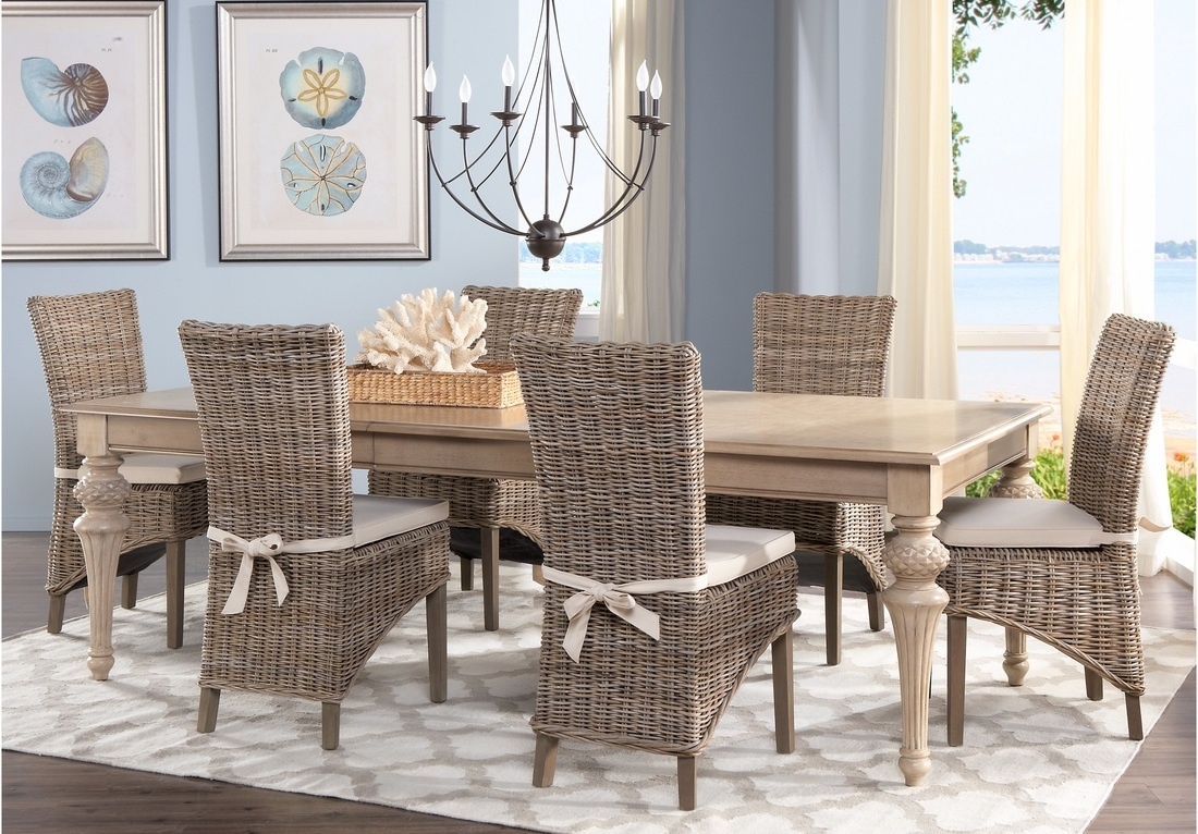 Dining: Comfortable Cindy Crawford Dining Room Set With Rectangular In Newest Crawford Rectangle Dining Tables (Image 12 of 20)