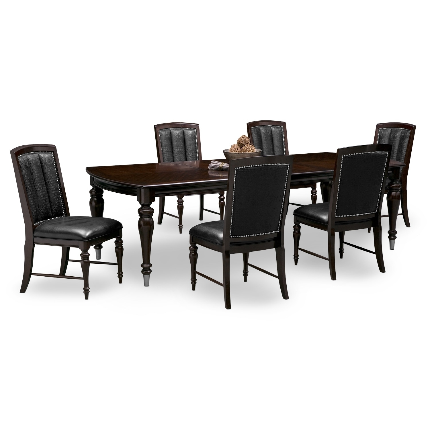 Dining Room Furniture | American Signature Throughout Current Market 6 Piece Dining Sets With Host And Side Chairs (Photo 16 of 20)