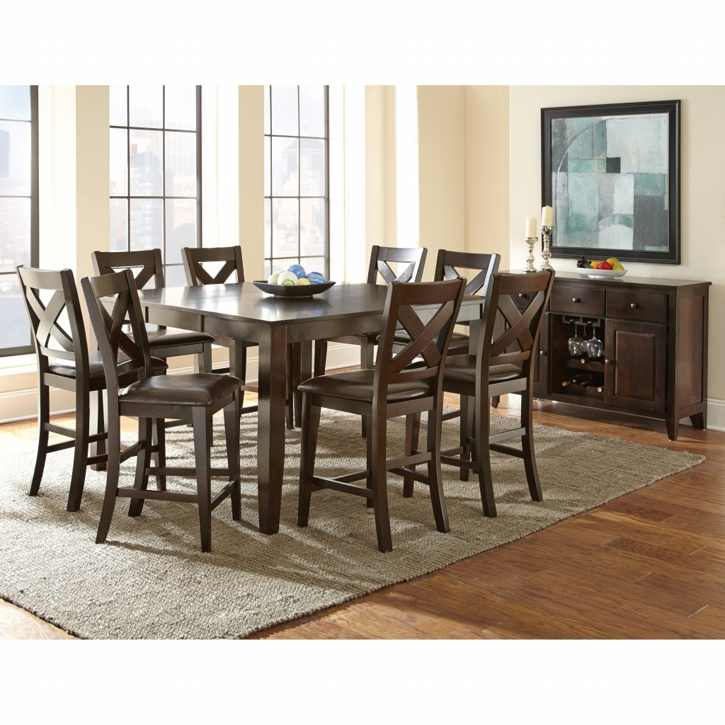 Dining Room: Square Dining Set Best Of Holland House 1271 Dining 5 Inside Newest Norwood 9 Piece Rectangle Extension Dining Sets (Image 2 of 20)