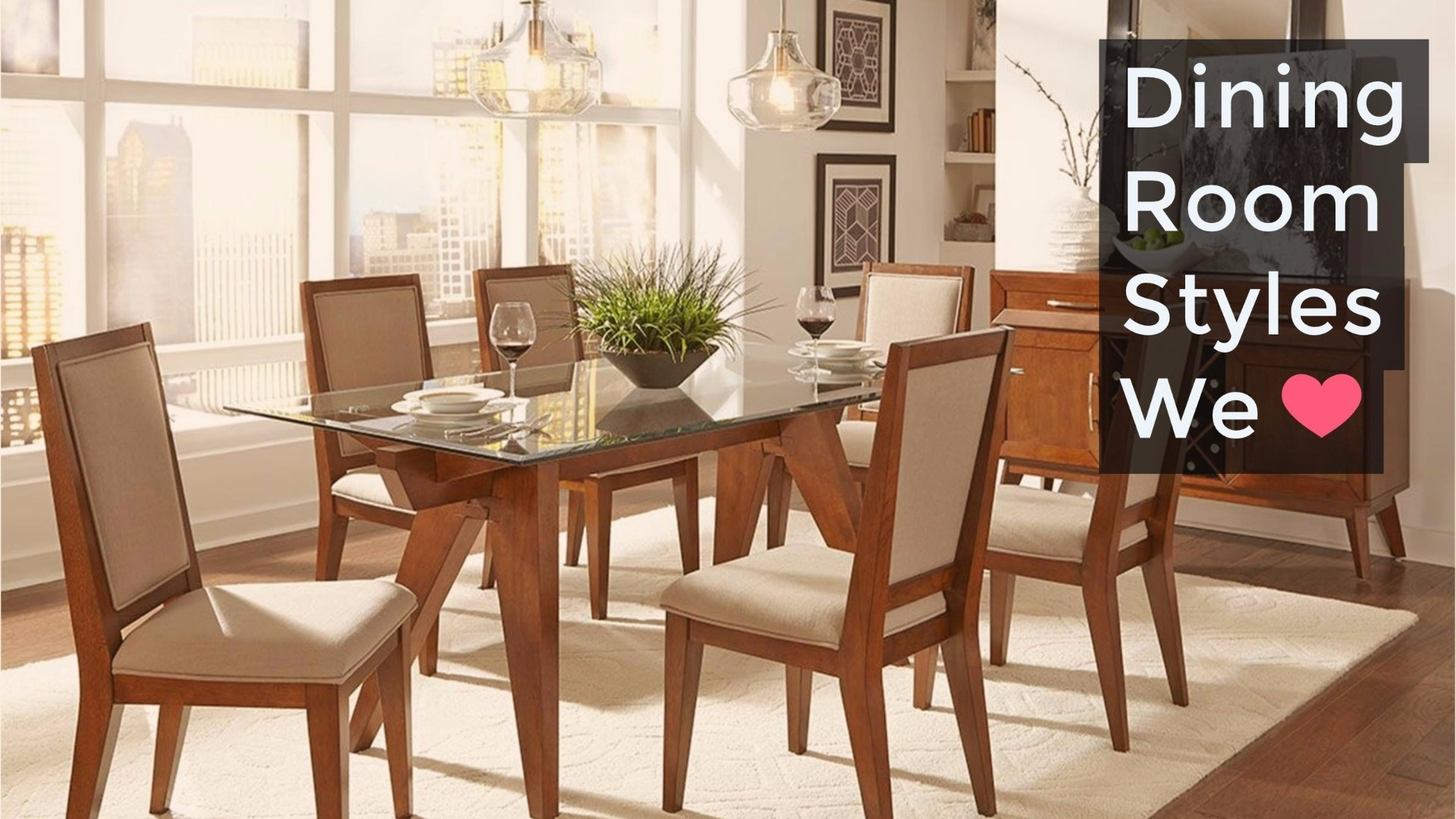 Dining Room Styles We Love | Weekends Only Furniture Within Best And Newest Cora 7 Piece Dining Sets (Image 11 of 20)