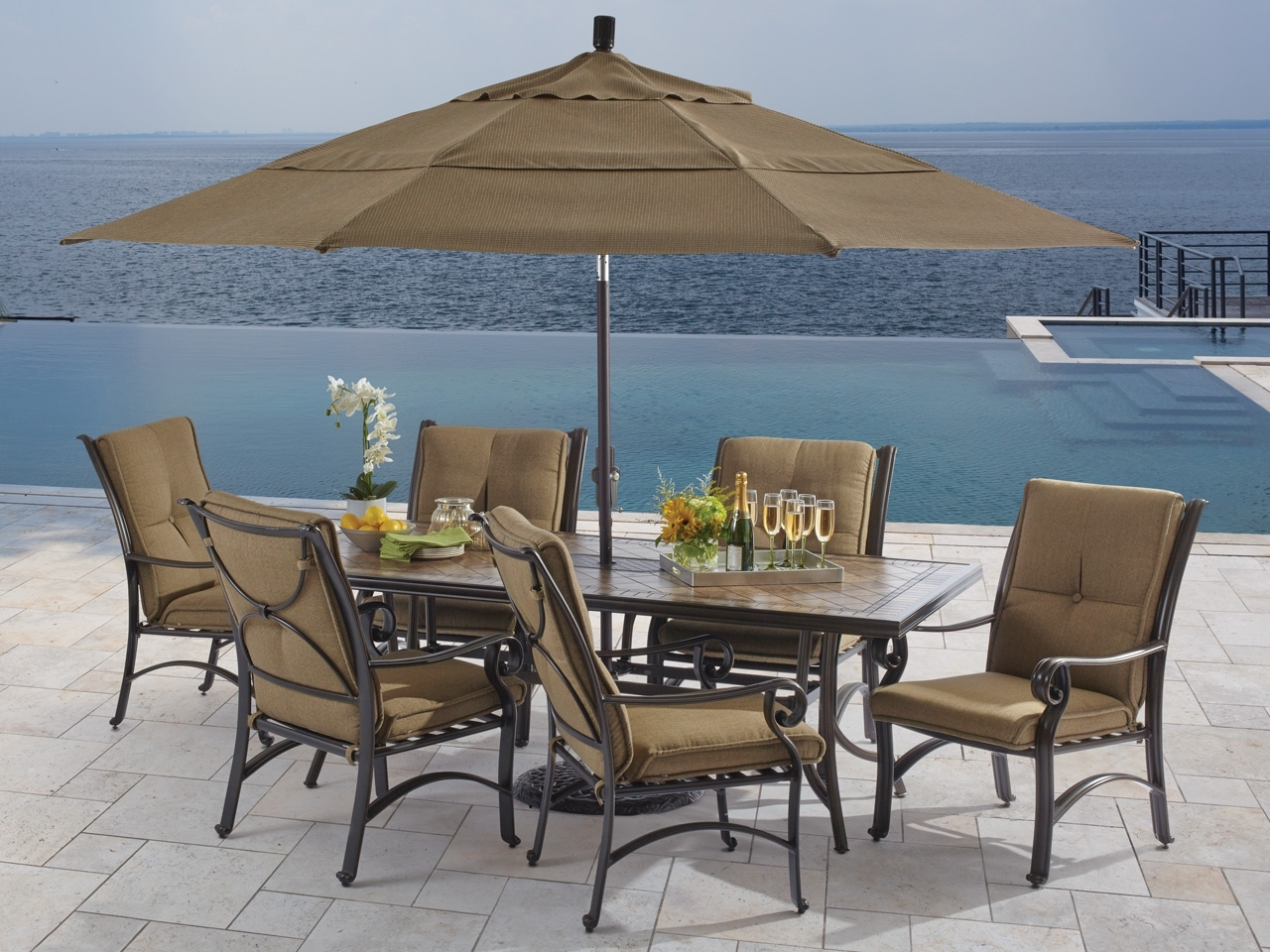 Dining Sets – Fortunoff Backyard Store Pertaining To Newest Market 7 Piece Counter Sets (Image 9 of 20)