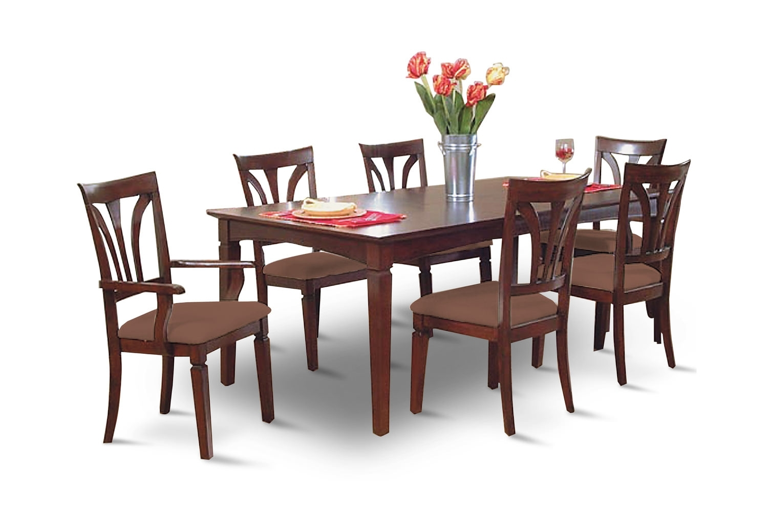 Dining Sets – Kitchen & Dining Room Sets – Hom Furniture Within Most Up To Date Chapleau Ii 7 Piece Extension Dining Tables With Side Chairs (Image 10 of 20)