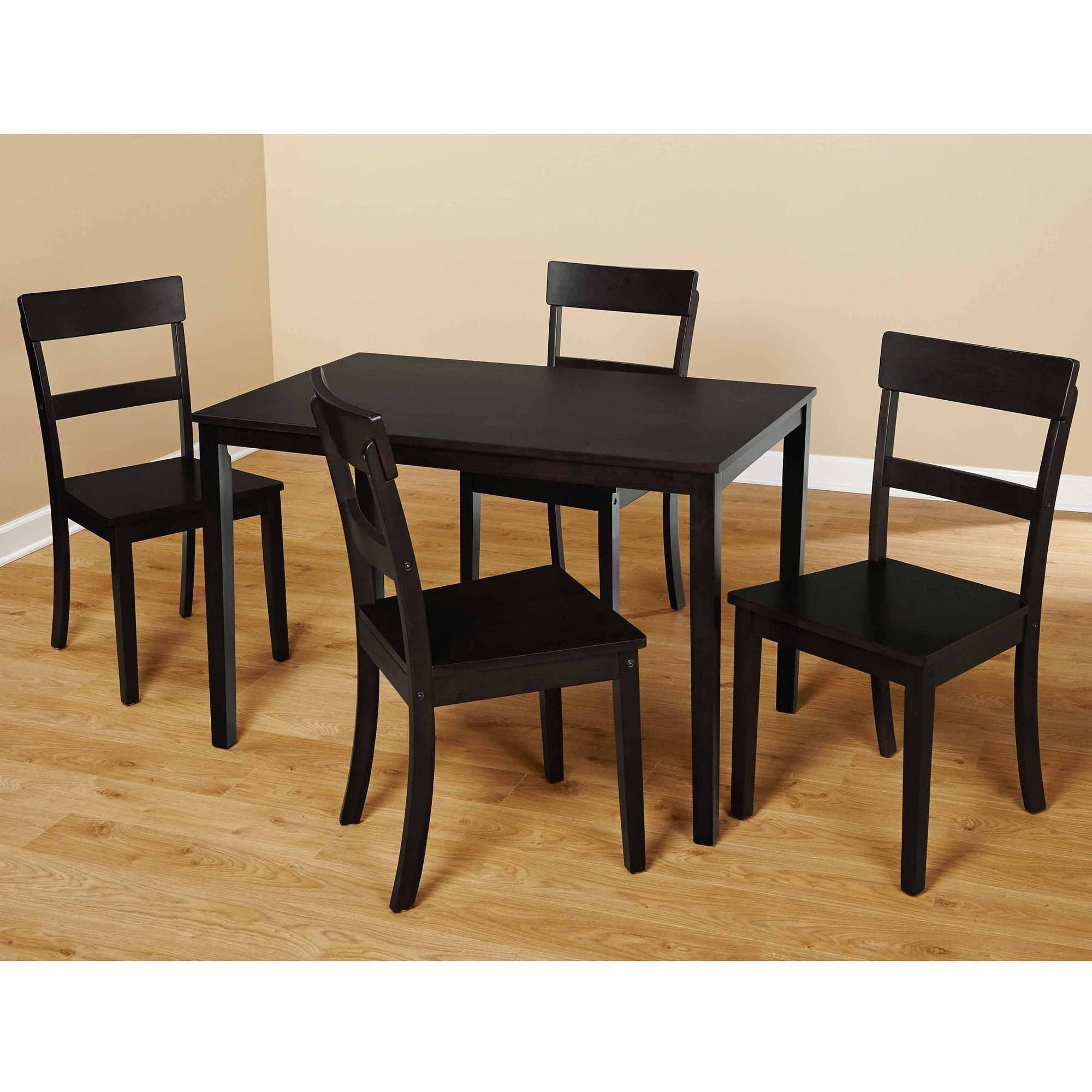 Dining Sets Under $200 – Walmart Within Best And Newest Delfina 7 Piece Dining Sets (Image 12 of 20)