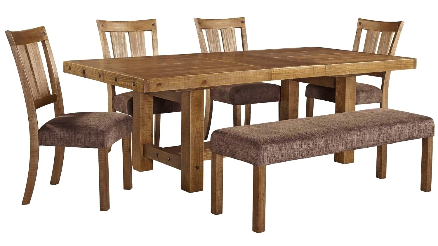 Dining Table 6 Piece Set Dining Tables Sets Dining Table Set 6 In Most Popular Mallard 6 Piece Extension Dining Sets (View 16 of 20)