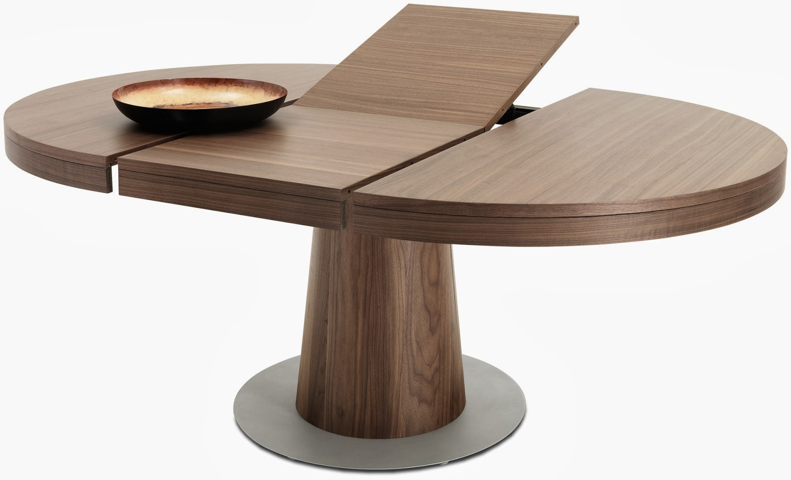 Dining Tables: Amusing Round Extension Dining Table Extension Dining With 2018 Jaxon Round Extension Dining Tables (Photo 10 of 20)