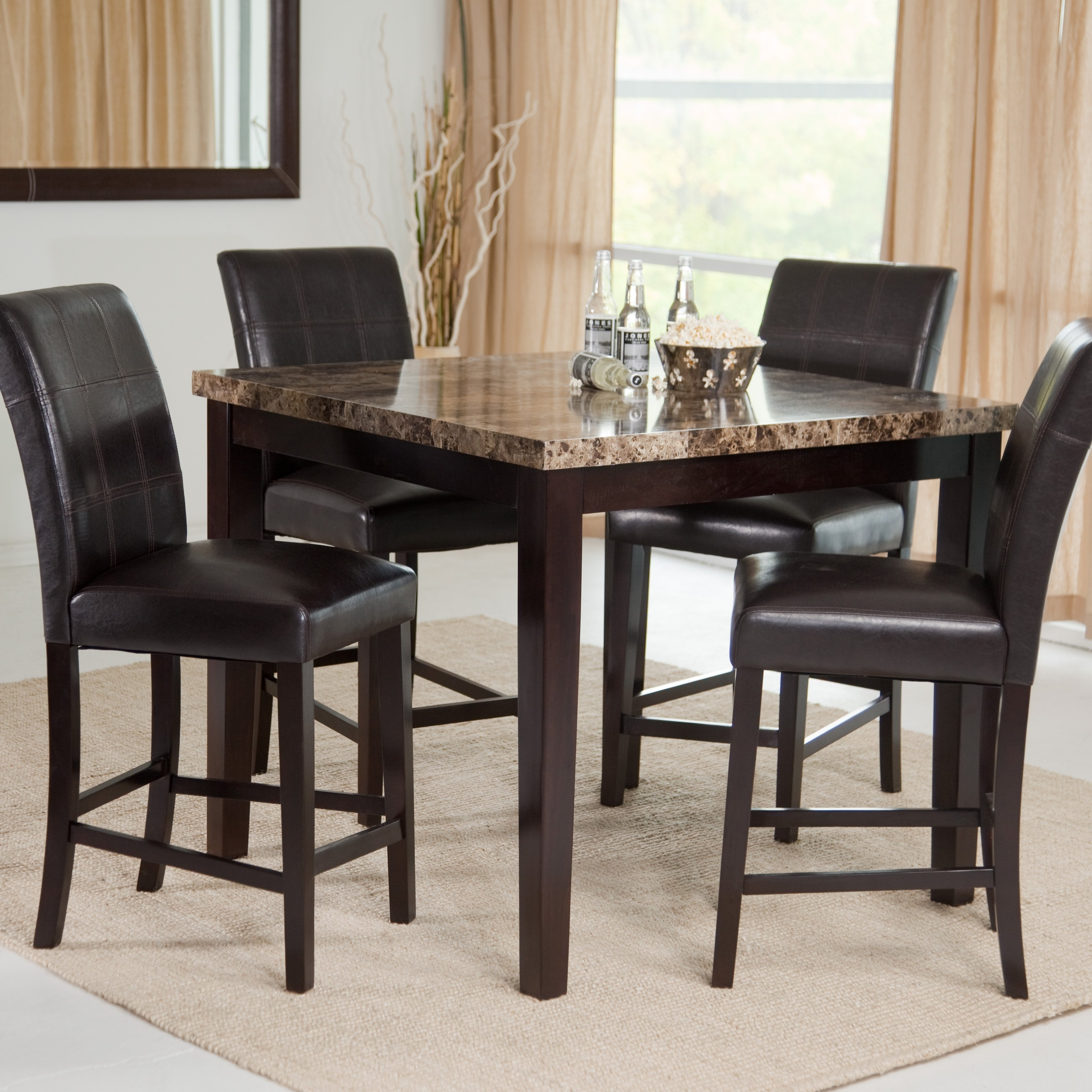 Dining Tables. Interesting Dining Table Sets: Astounding Dining For Most Up To Date Macie 5 Piece Round Dining Sets (Photo 19 of 20)