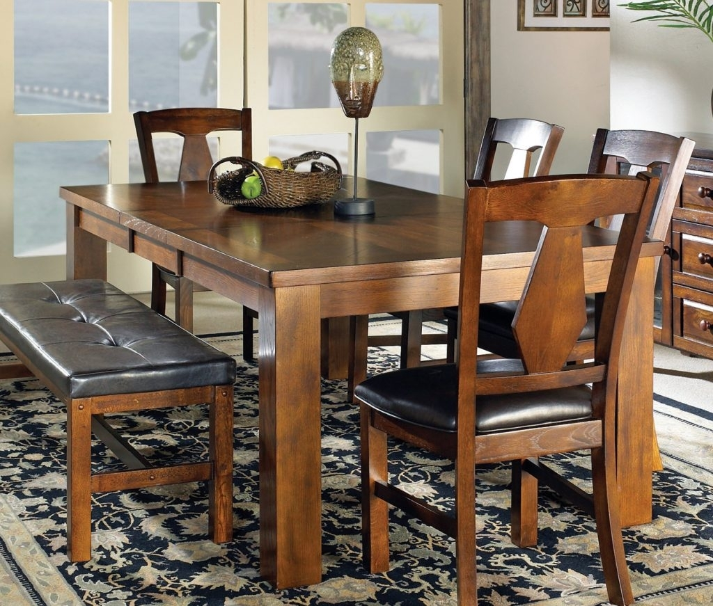 Dinning Room. 6 Piece Dining Room Sets – Home Design 2019 In Most Recently Released Patterson 6 Piece Dining Sets (Photo 6 of 20)