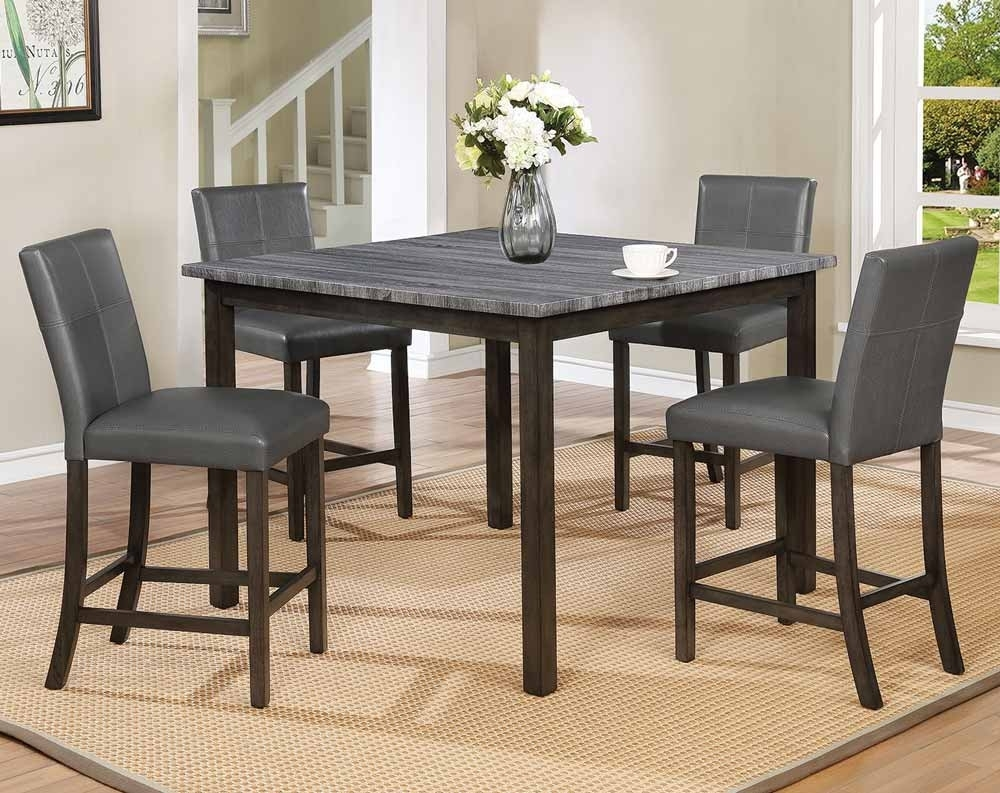 Discount Dining Room Sets & Kitchen Tables | American Freight In Recent Valencia 3 Piece Counter Sets With Bench (Image 2 of 20)
