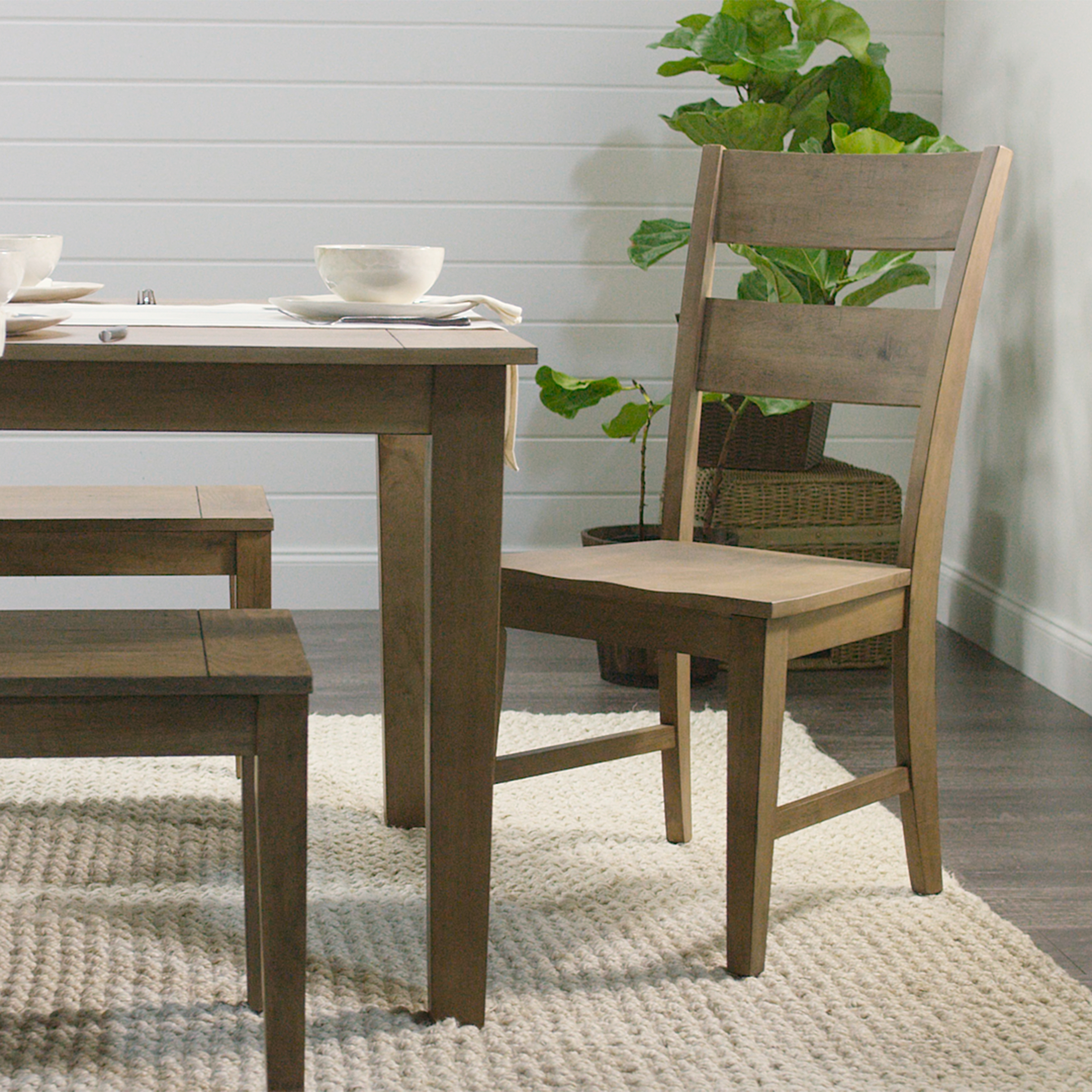 Distressed Wood Harrow Dining Chairs Set Of 2 World Market Including Within Most Popular Market Dining Tables (Image 8 of 20)