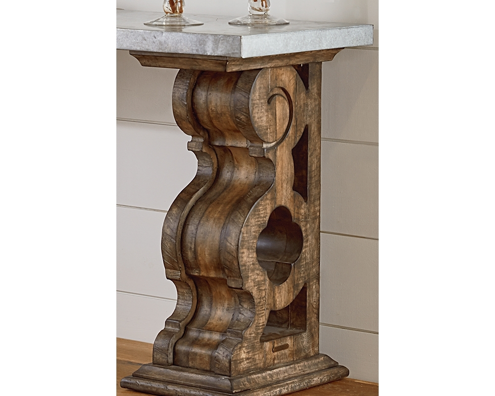 Double Pedestal Console Table @sm11 | Wendycorsistaubcommunity Throughout Most Recently Released Magnolia Home Double Pedestal Dining Tables (Image 9 of 20)